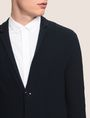 ARMANI EXCHANGE KNIT TWO-BUTTON POCKET BLAZER Blazer Man b