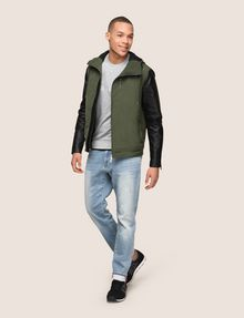ARMANI EXCHANGE CONTRAST SLEEVE HOODED JACKET Jacket Man d