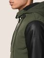 ARMANI EXCHANGE CONTRAST SLEEVE HOODED JACKET Jacket Man b