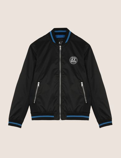 RETRO LOGO PATCH BOMBER