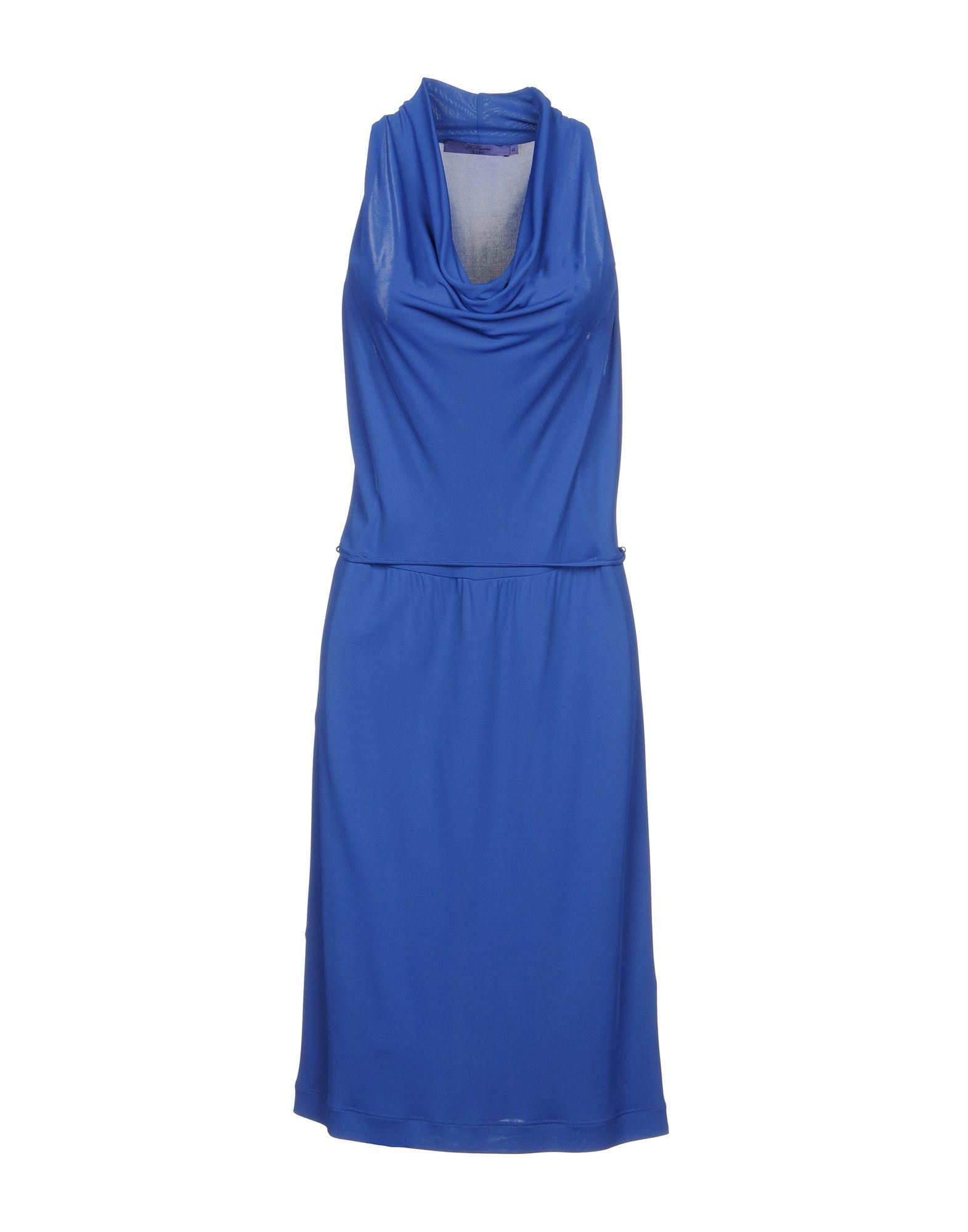 BLUE LES COPAINS Платье до колена paolo casalini платье до колена