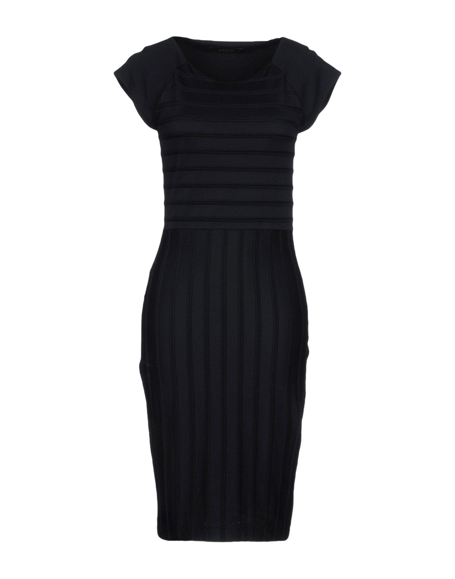 SUPERTRASH Платье до колена supertrash длинное платье