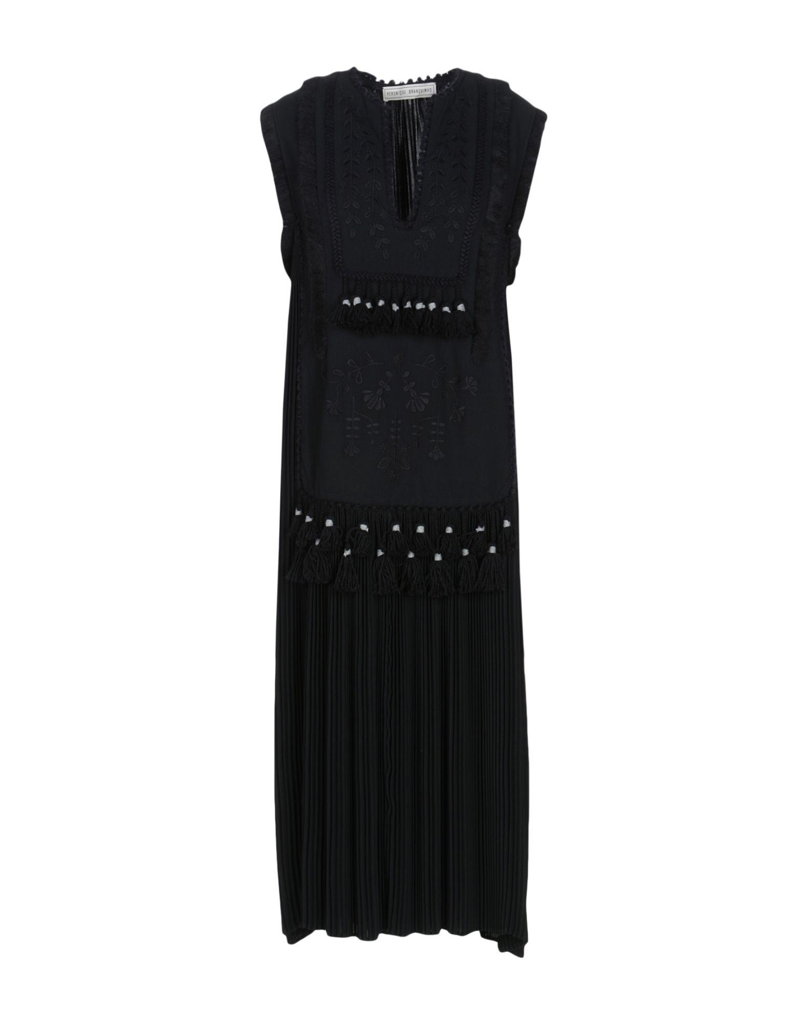 VERONIQUE BRANQUINHO Платье длиной 3/4 veronique branquinho юбка длиной 3 4