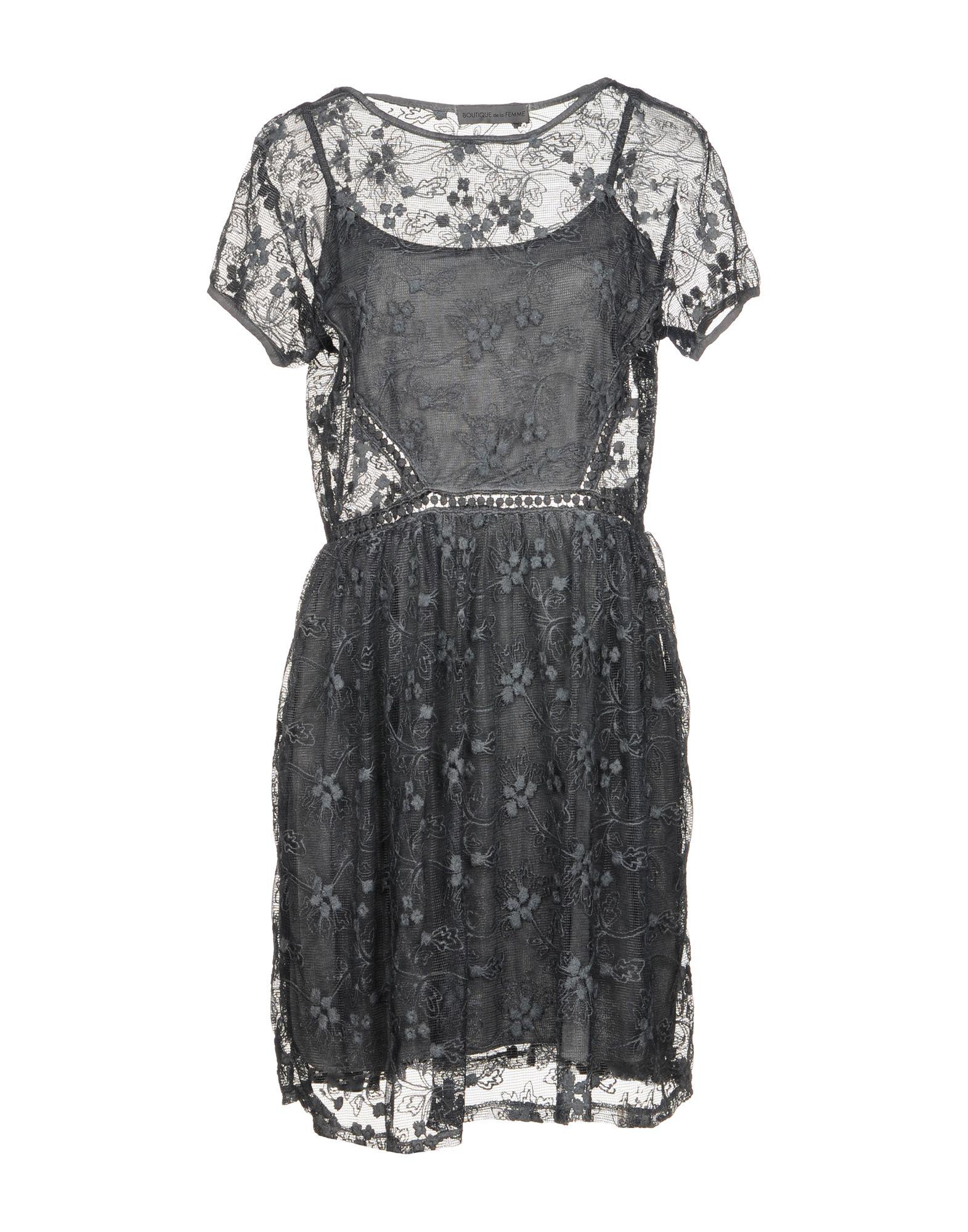 BOUTIQUE de la FEMME Короткое платье boutique de la femme толстовка