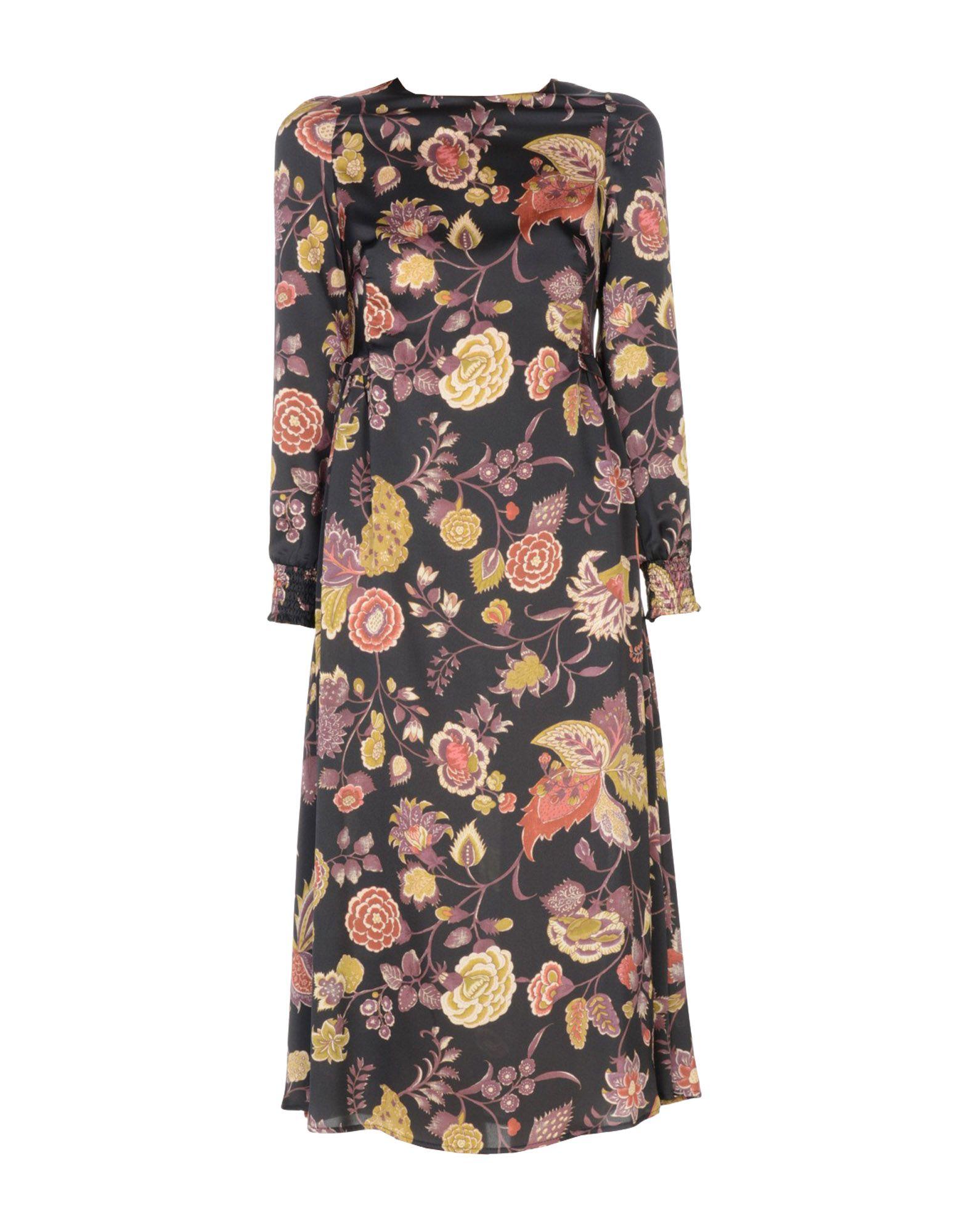 BIANCOGHIACCIO Платье длиной 3/4 lisa corti платье длиной 3 4