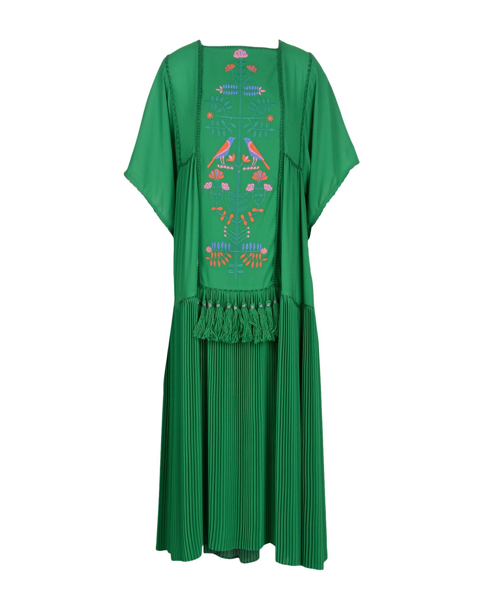 VERONIQUE BRANQUINHO Платье длиной 3/4 розетка 1 пост комп rj45 schneider electric glossa кат 5 алюминий