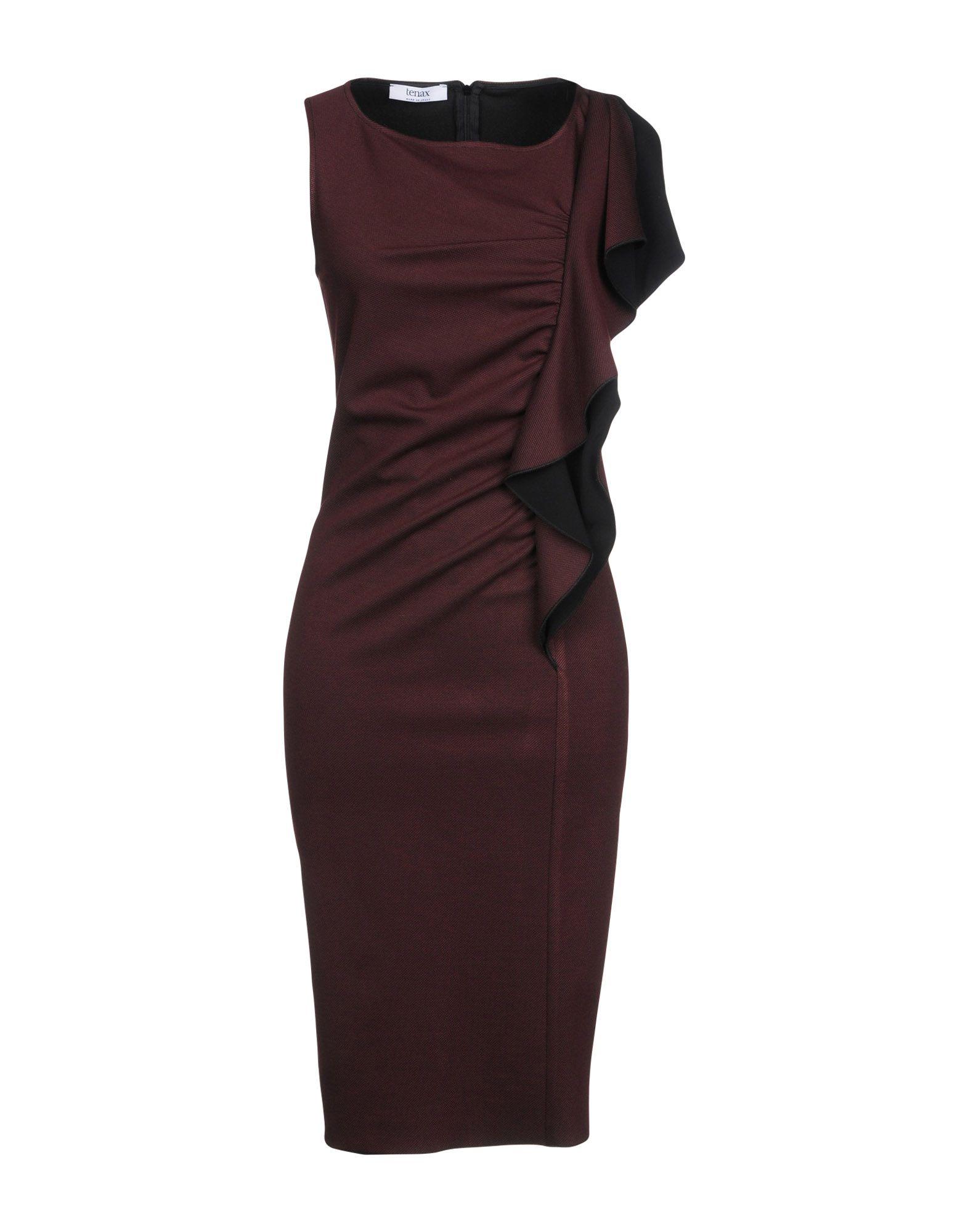 TENAX Платье до колена tenax свитер