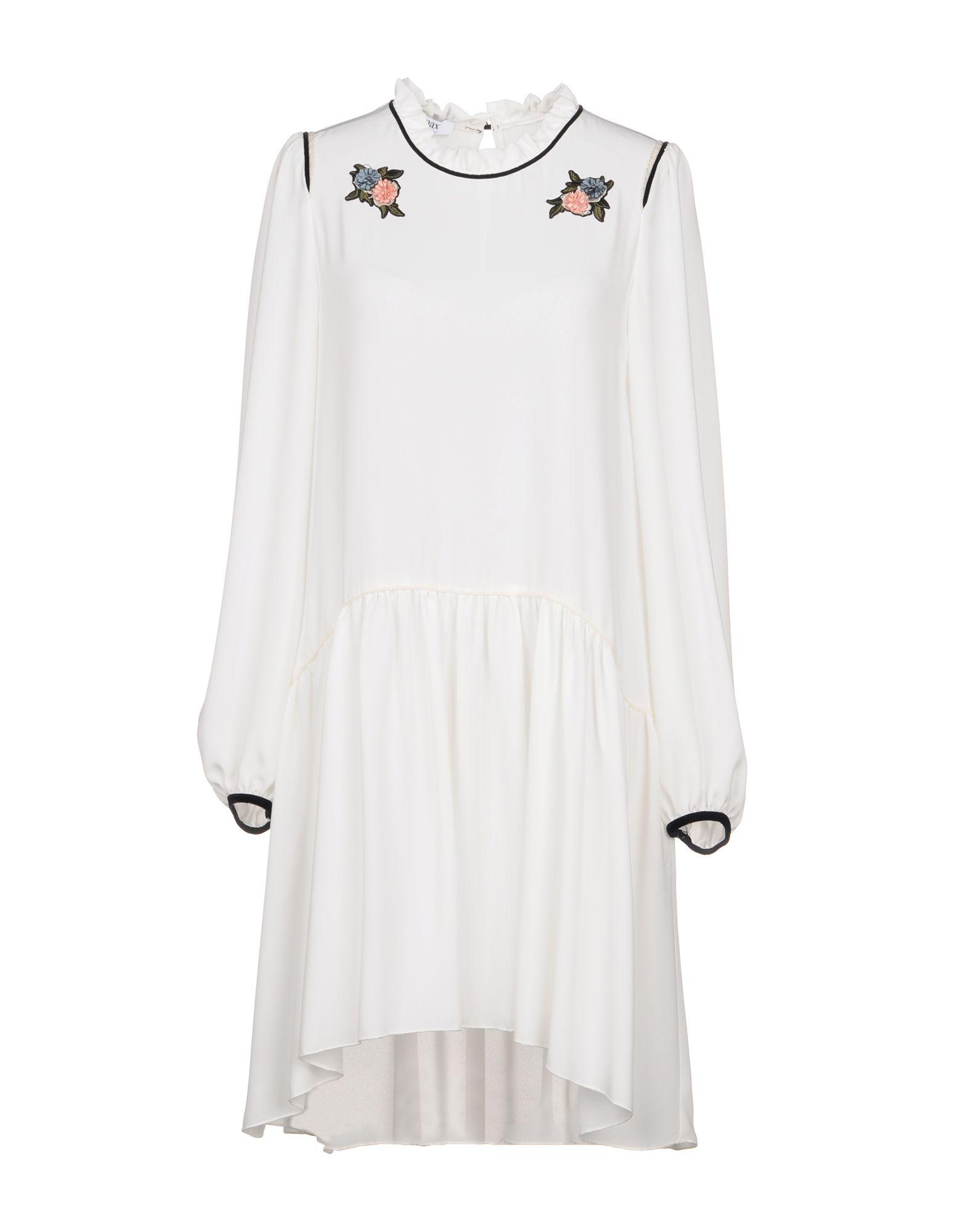 TENAX Короткое платье tenax платье длиной 3 4