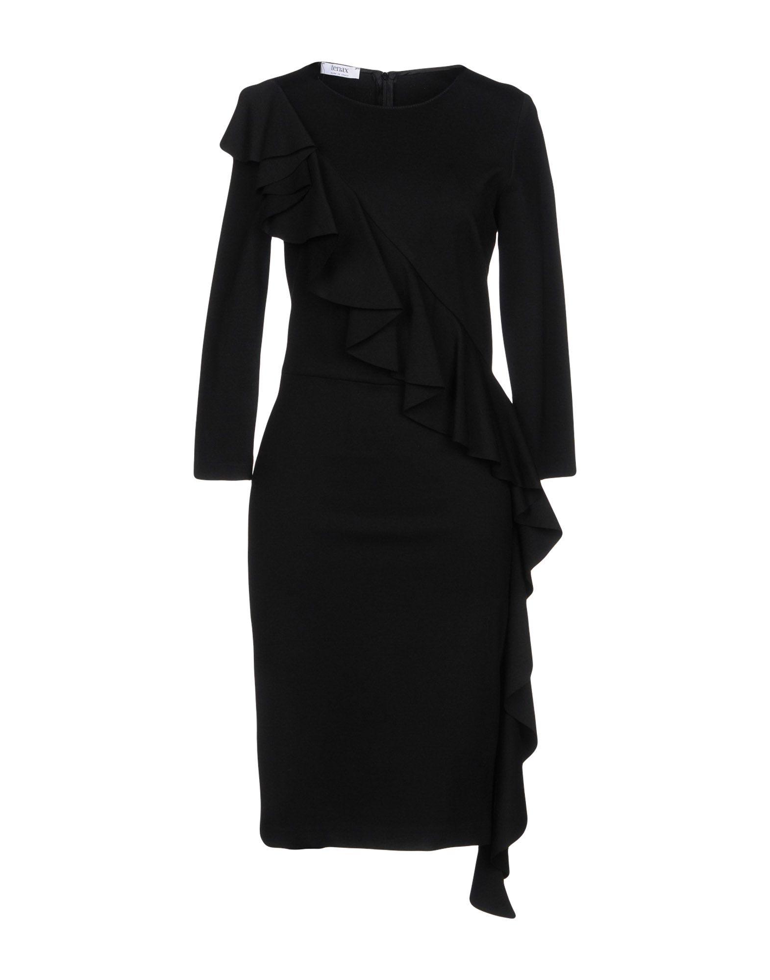 TENAX Платье до колена tenax платье длиной 3 4