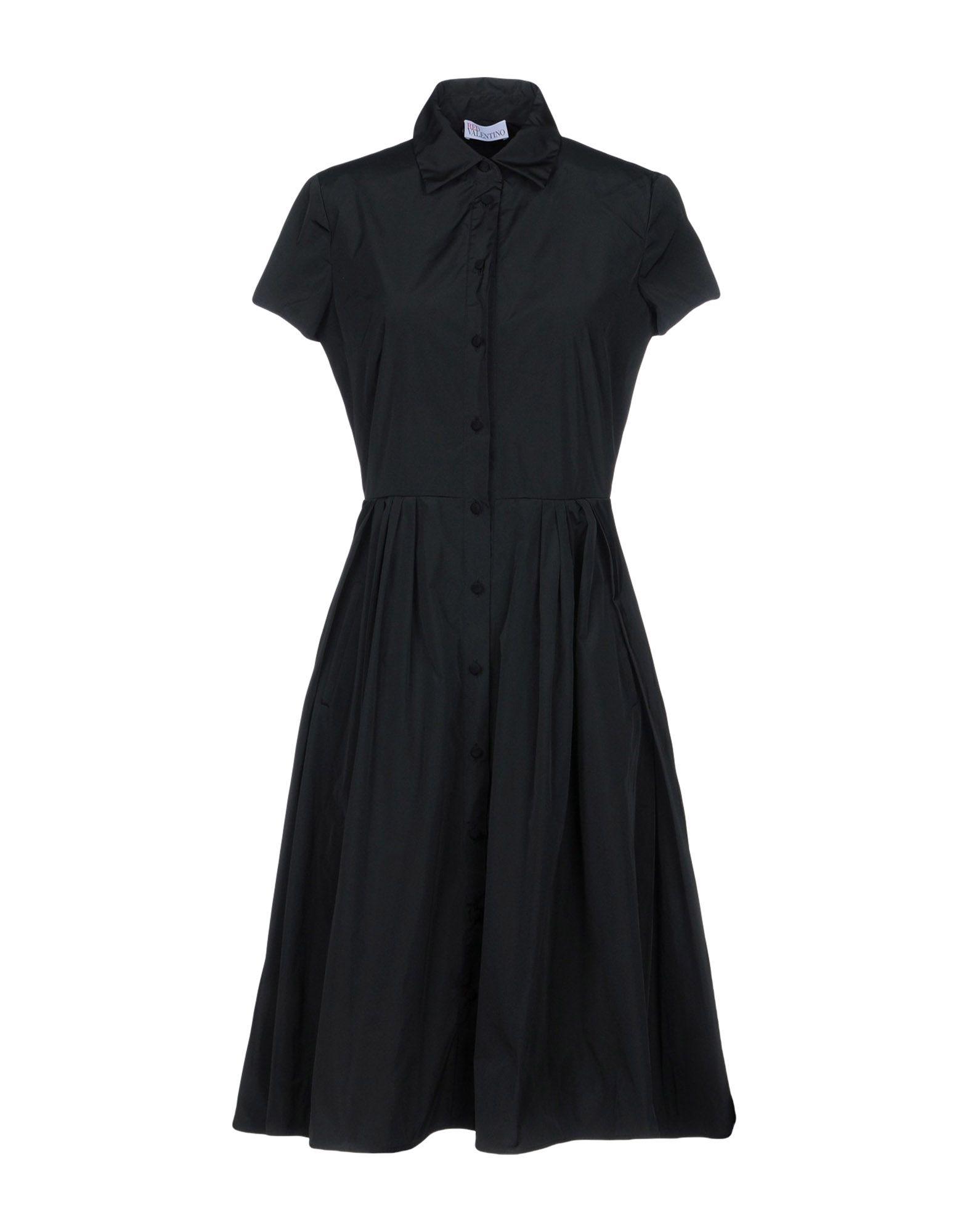 REDValentino Платье до колена redvalentino платье до колена