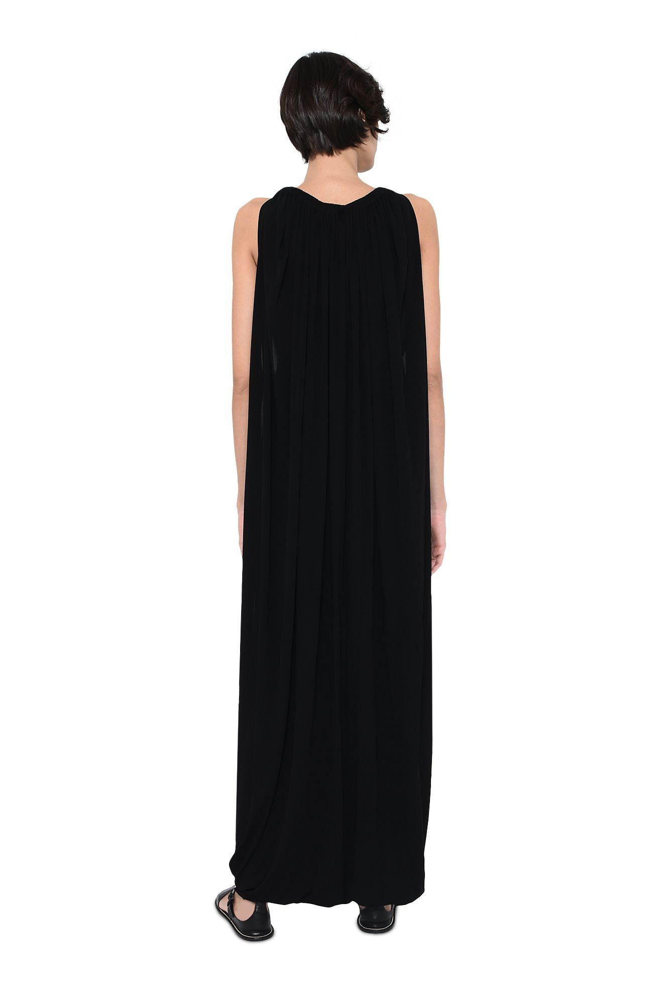 ALBERTA FERRETTI Long Dress Woman Long lamé dress with cross back r