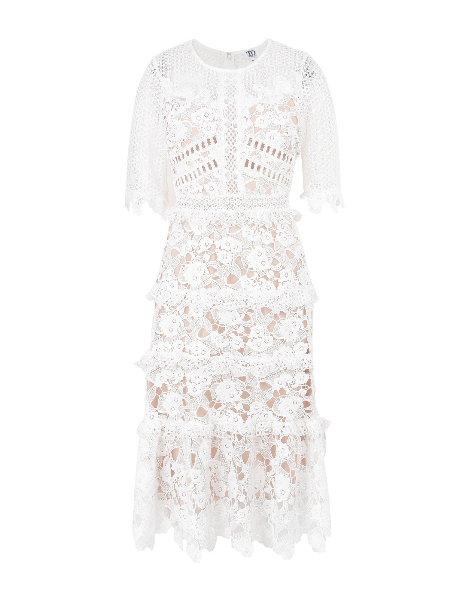 TD TRUE DECADENCE Платье длиной 3/4 lisa corti платье длиной 3 4