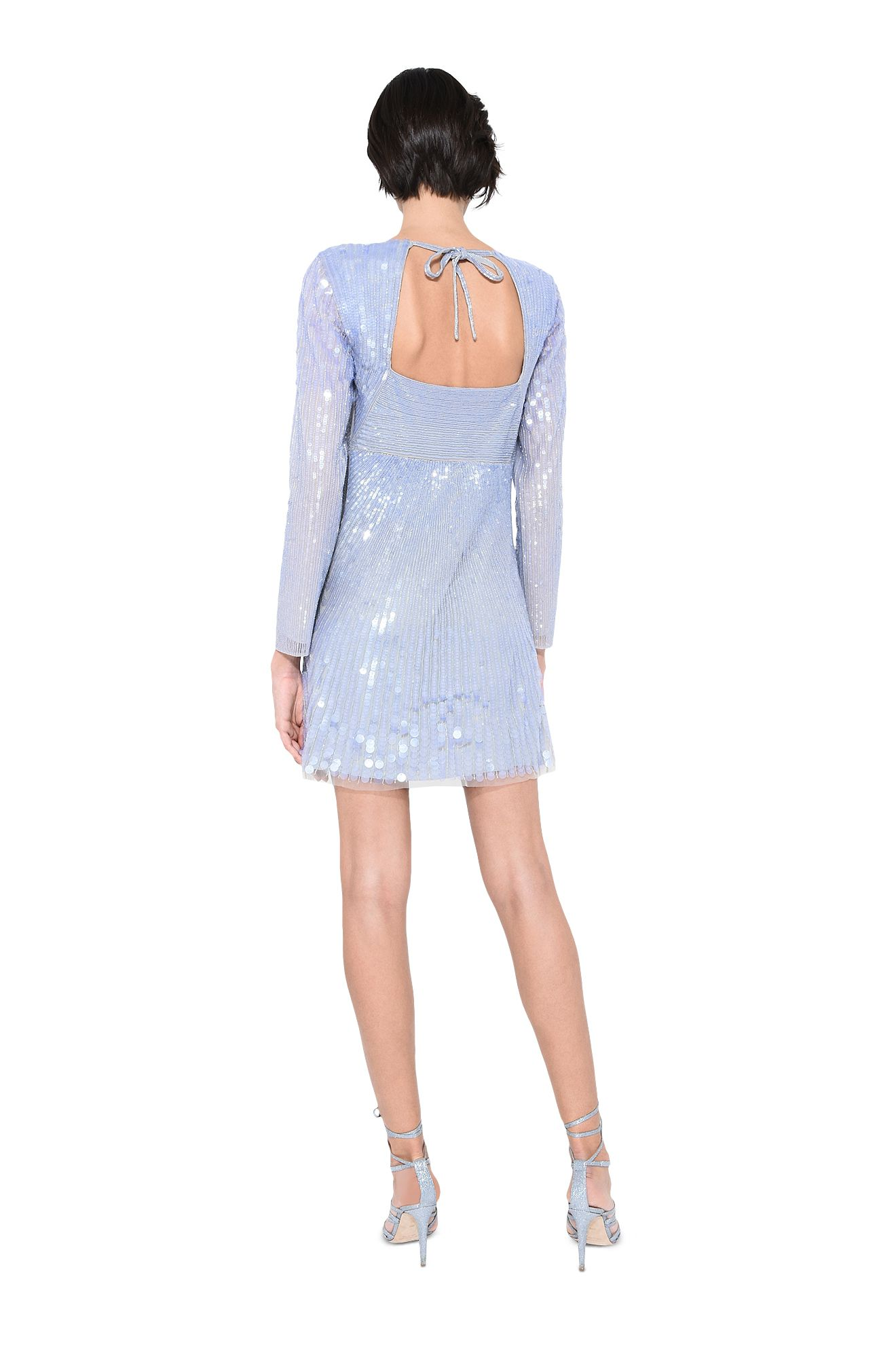 ALBERTA FERRETTI Short Dress Woman Mini cape-dress r