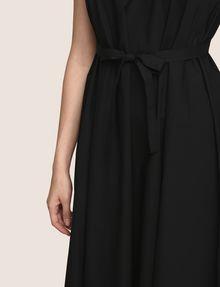 ARMANI EXCHANGE CROSS-STITCH POPLIN MIDI DRESS Midi dress Woman b