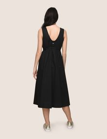 ARMANI EXCHANGE CROSS-STITCH POPLIN MIDI DRESS Midi dress Woman e