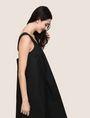ARMANI EXCHANGE CROSS-STITCH POPLIN MIDI DRESS Midi dress Woman a