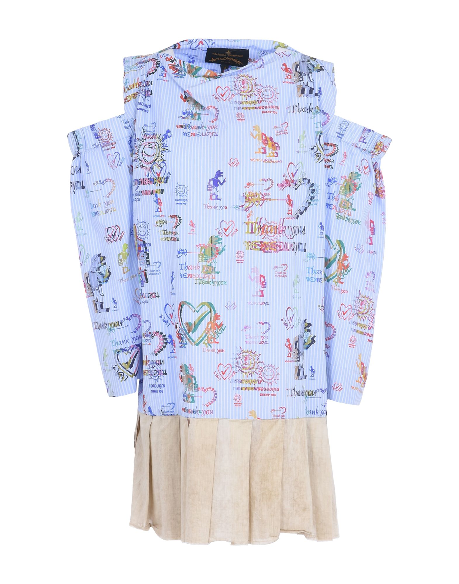 b1616c13f9a87 VIVIENNE WESTWOOD ANGLOMANIA SHORT DRESSES, SKY BLUE | ModeSens