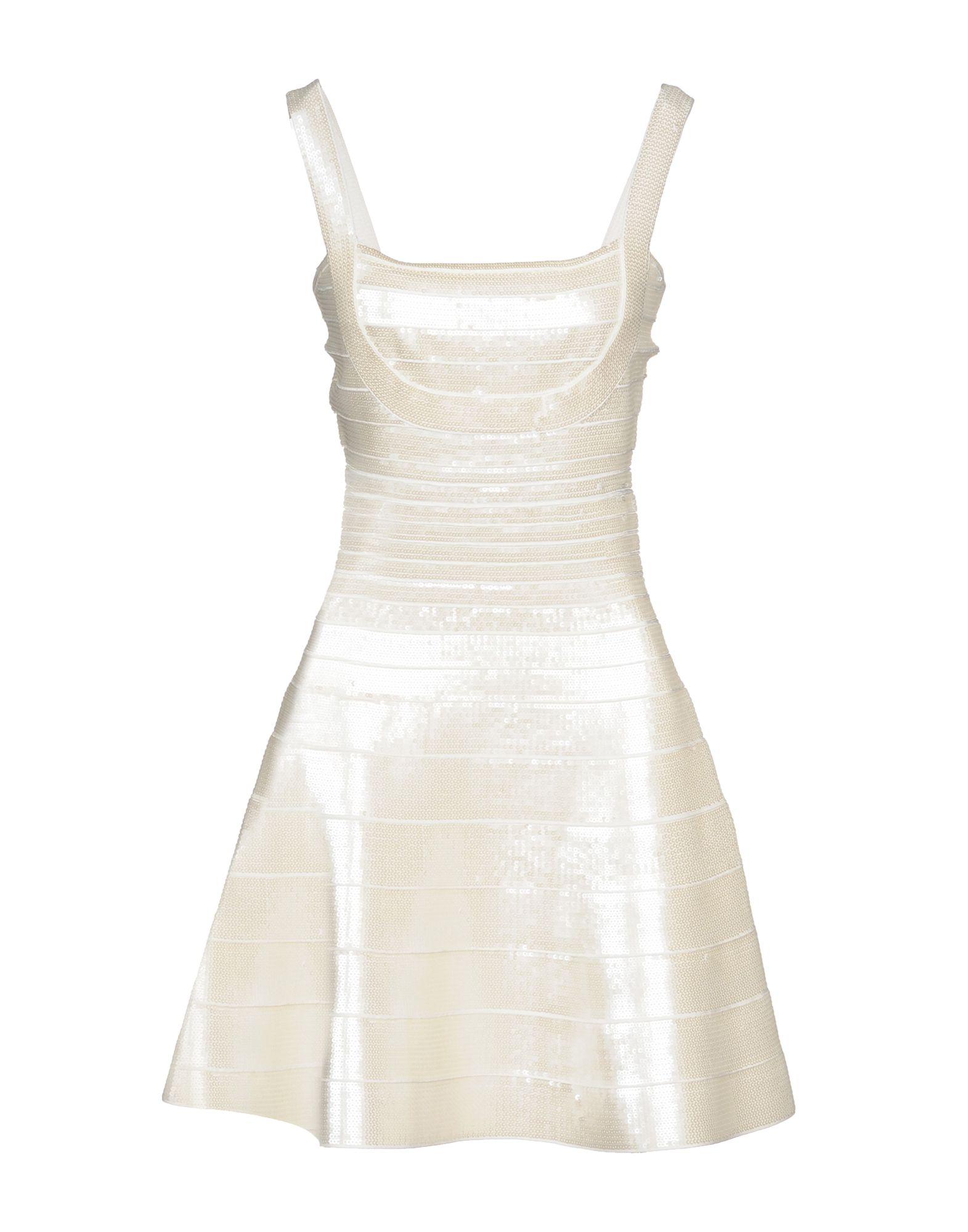 HERVE' L. LEROUX Короткое платье женское платье hefunige herve leger