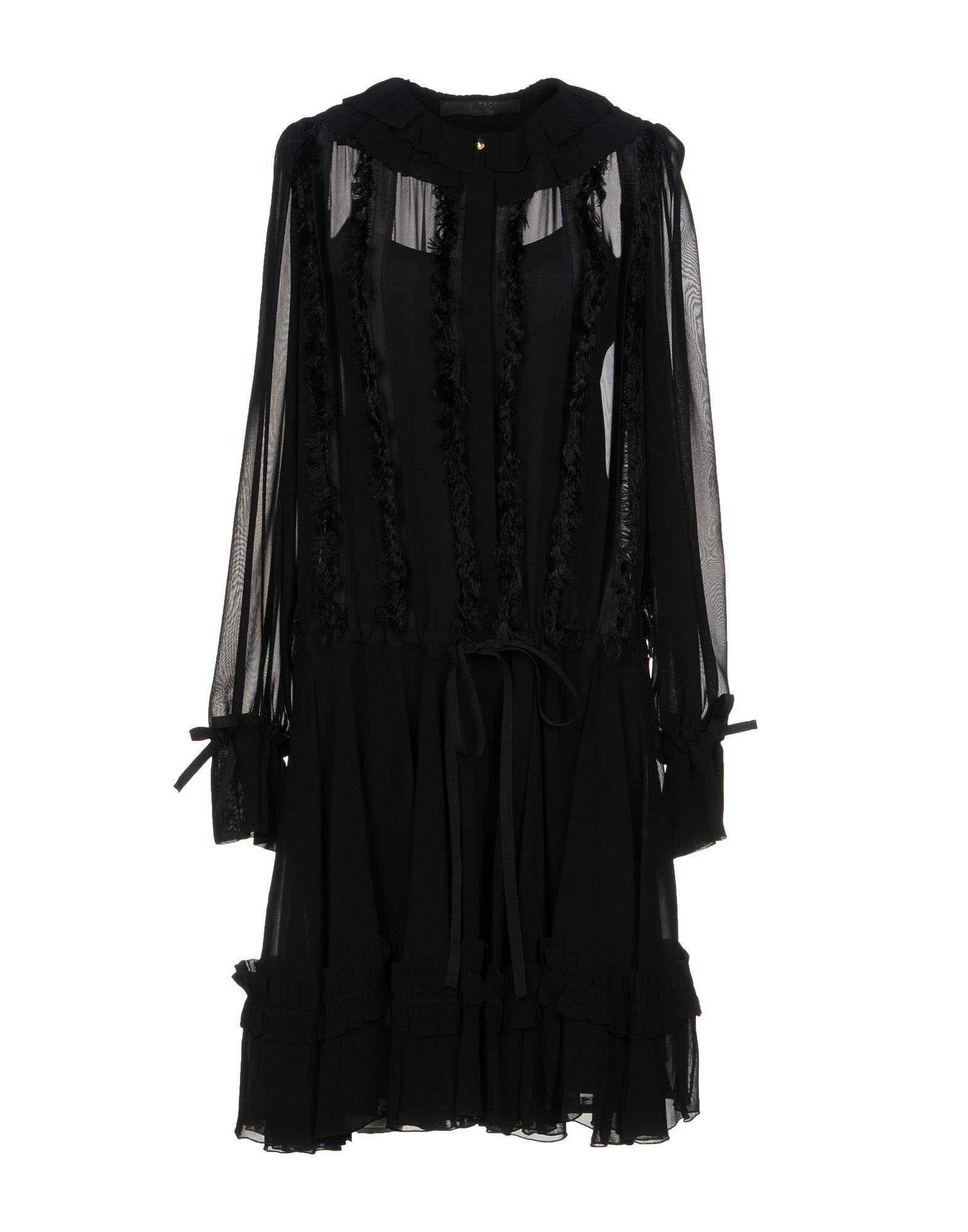 ALBINO TEODORO Платье до колена цена 2017