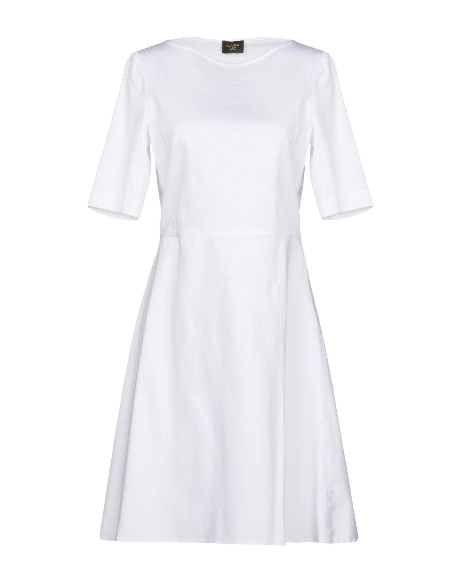 BLANCA LUZ Короткое платье luz casal cap roig