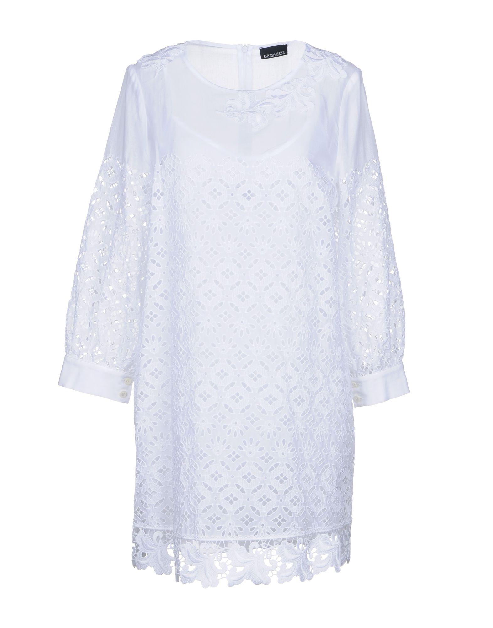 ERMANNO DI ERMANNO SCERVINO Короткое платье ermanno di ermanno scervino комбинация
