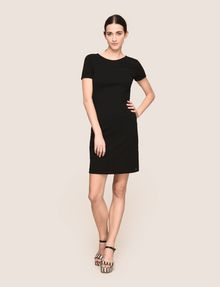 ARMANI EXCHANGE LACE-UP BACK BODYCON DRESS Mini dress Woman d