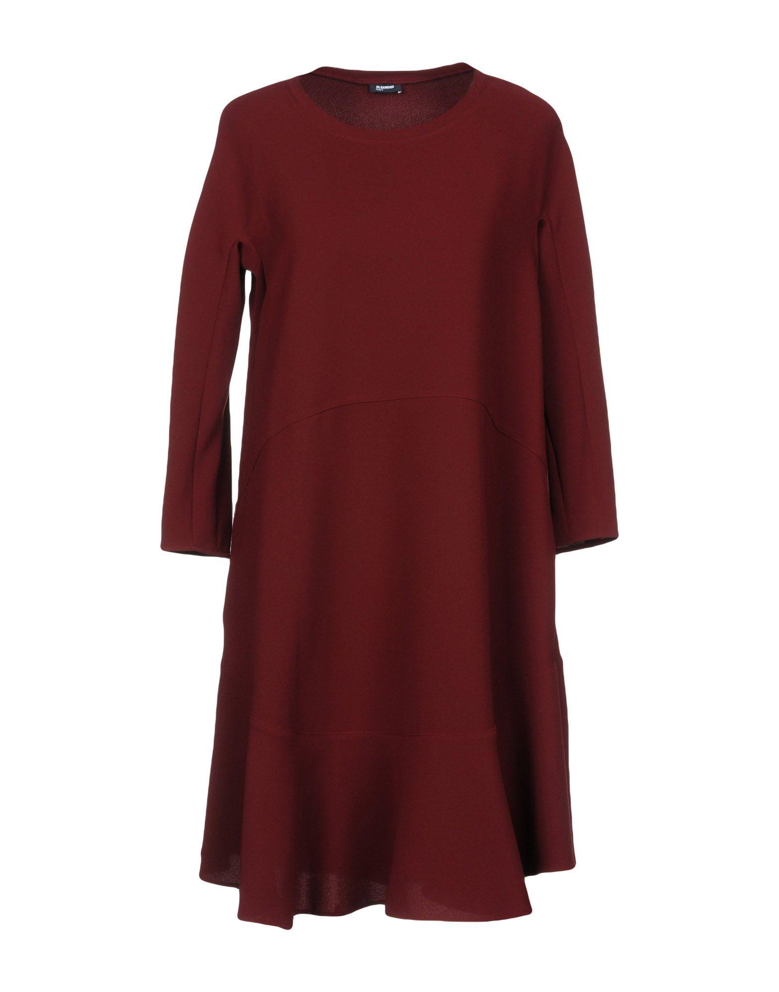 JIL SANDER NAVY Короткое платье цена 2017