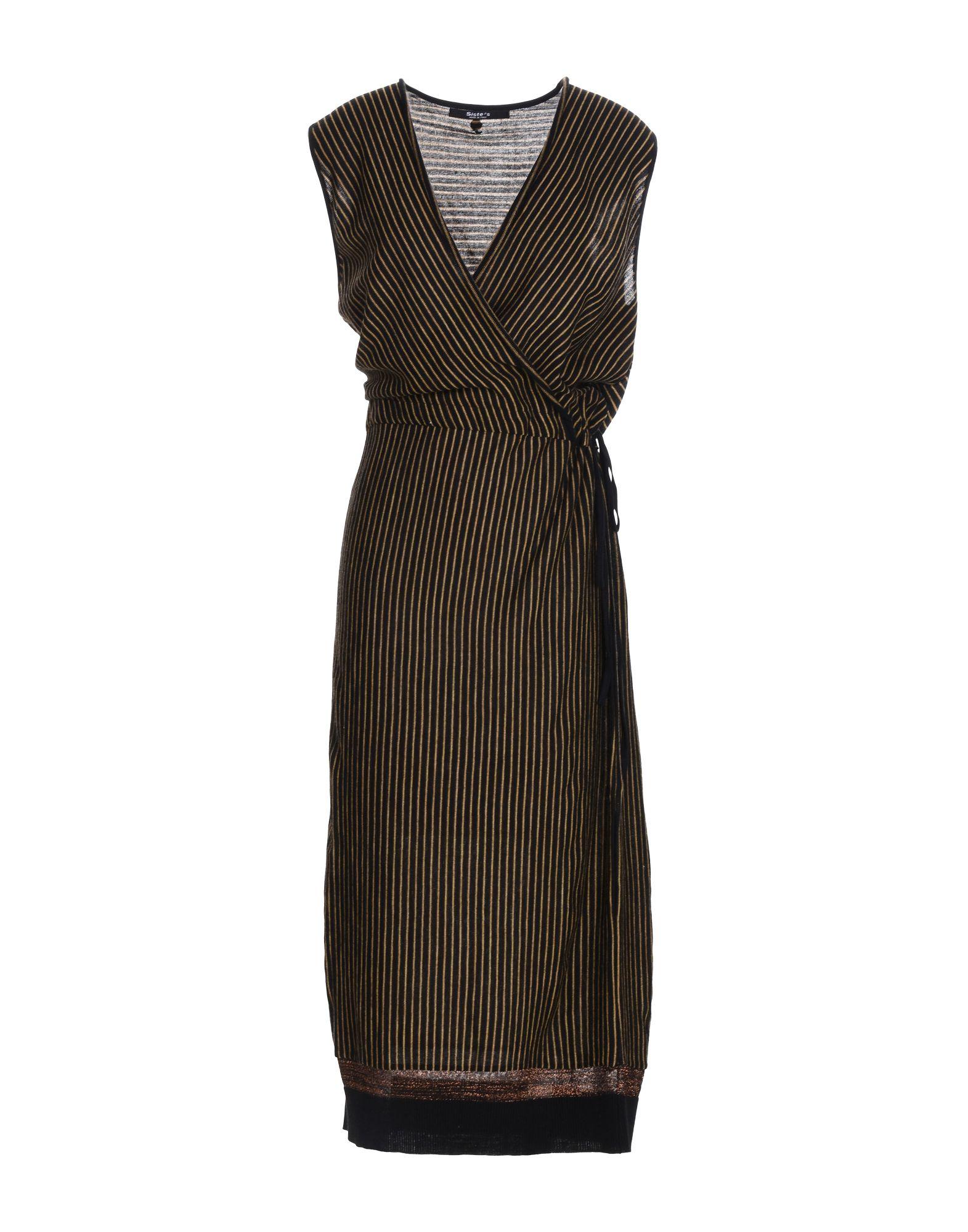 SISTE' S Платье длиной 3/4 siste s юбка длиной 3 4