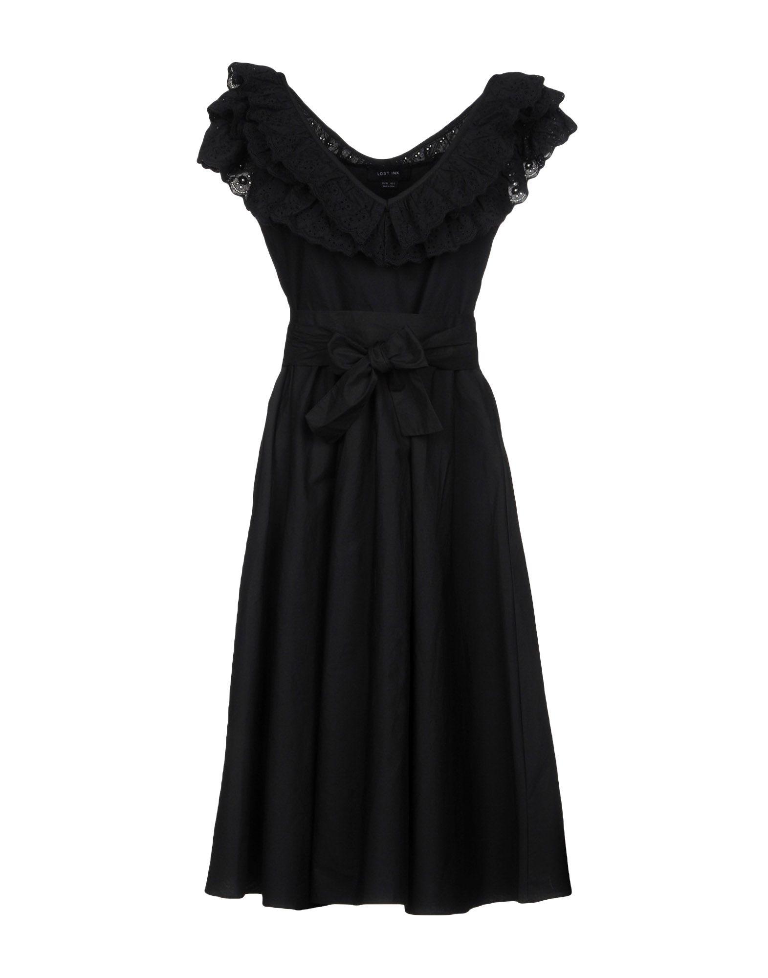 LOST INK Платье до колена
