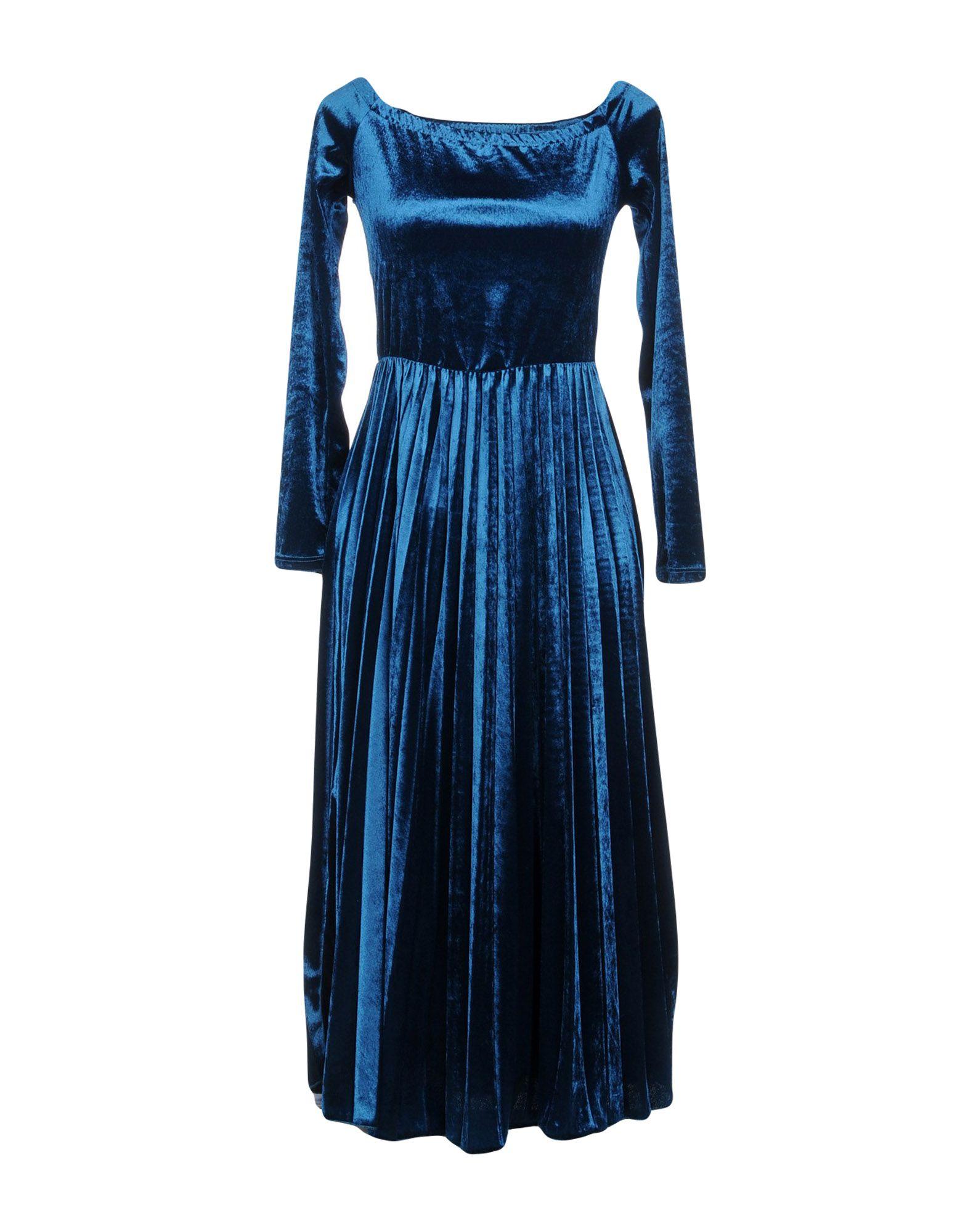 PAOLO CASALINI Платье длиной 3/4 paolo casalini комбинезоны без бретелей