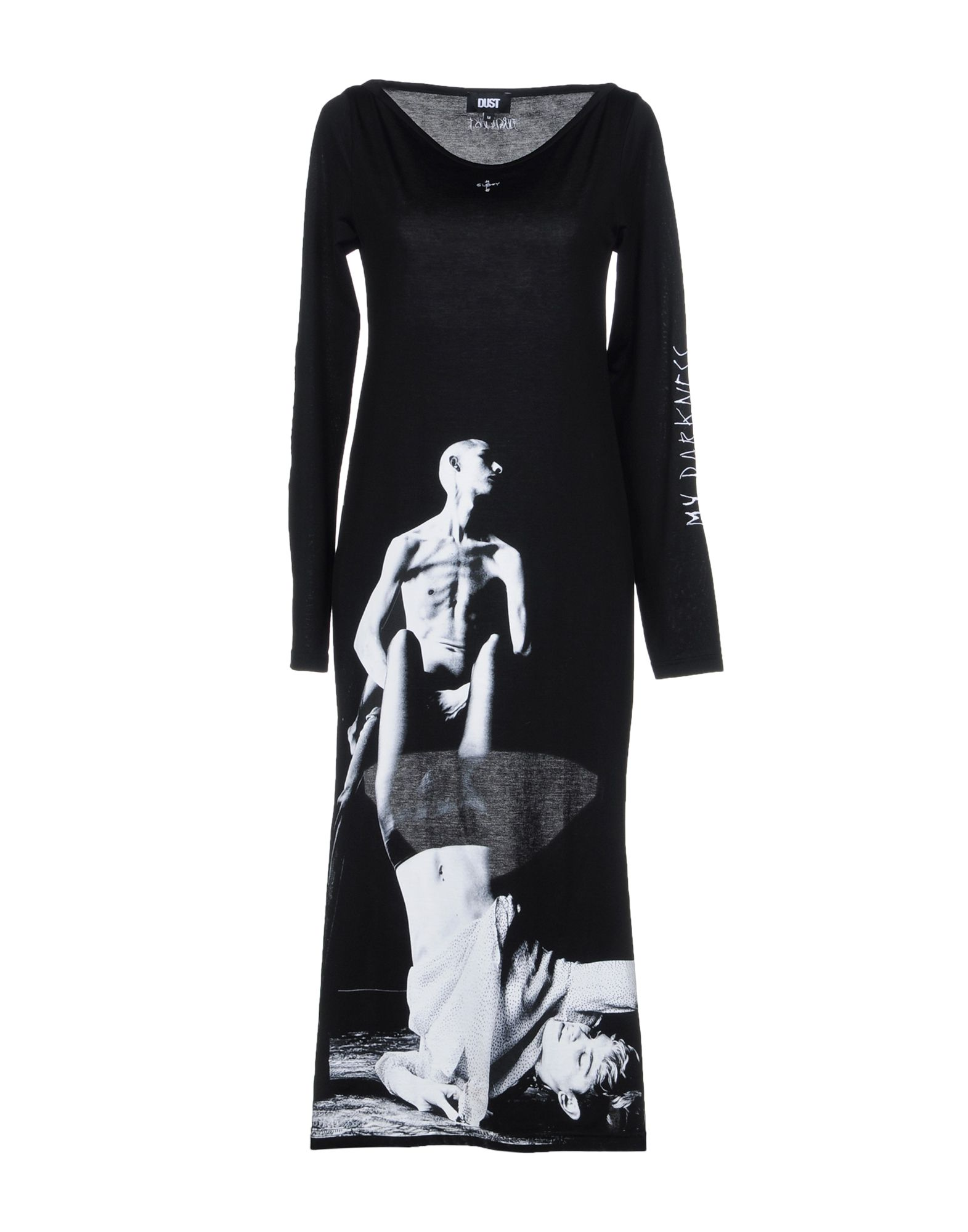 DUST Платье длиной 3/4 lisa corti платье длиной 3 4