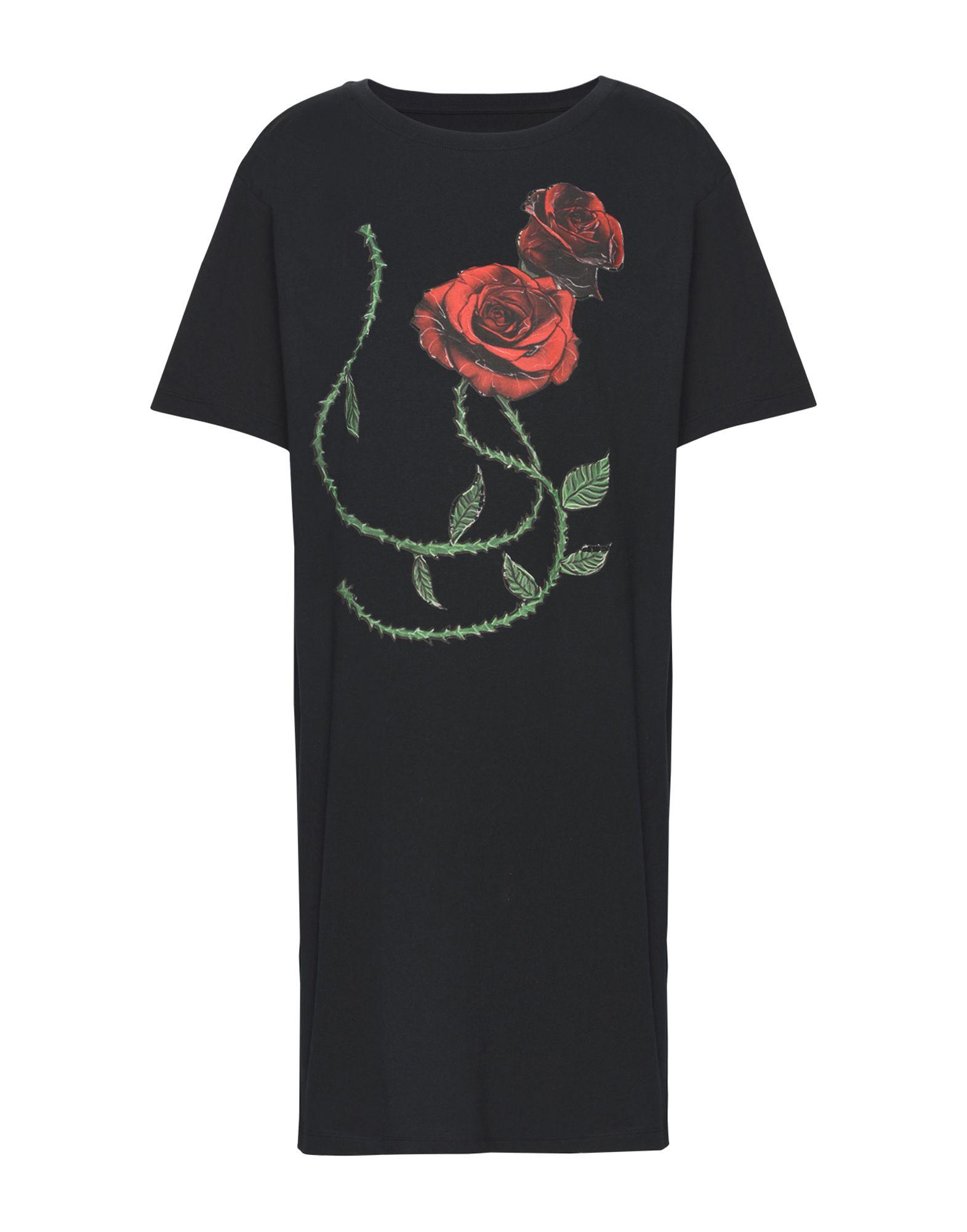 PIERRE DARRÉ Damen Kurzes Kleid Farbe Schwarz Größe 3