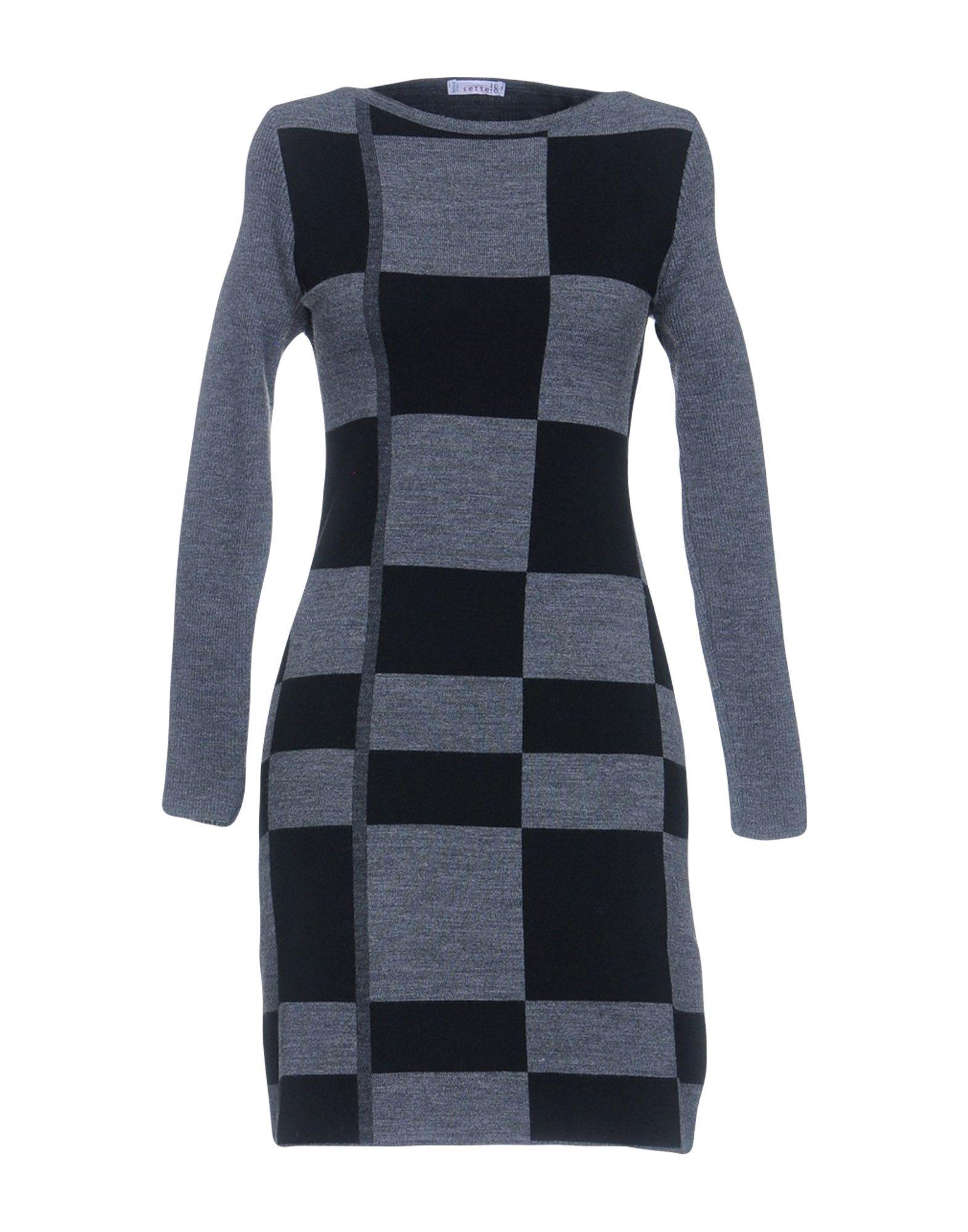 SETTE!8 Короткое платье linea di sette чепчик розочки linea di sette