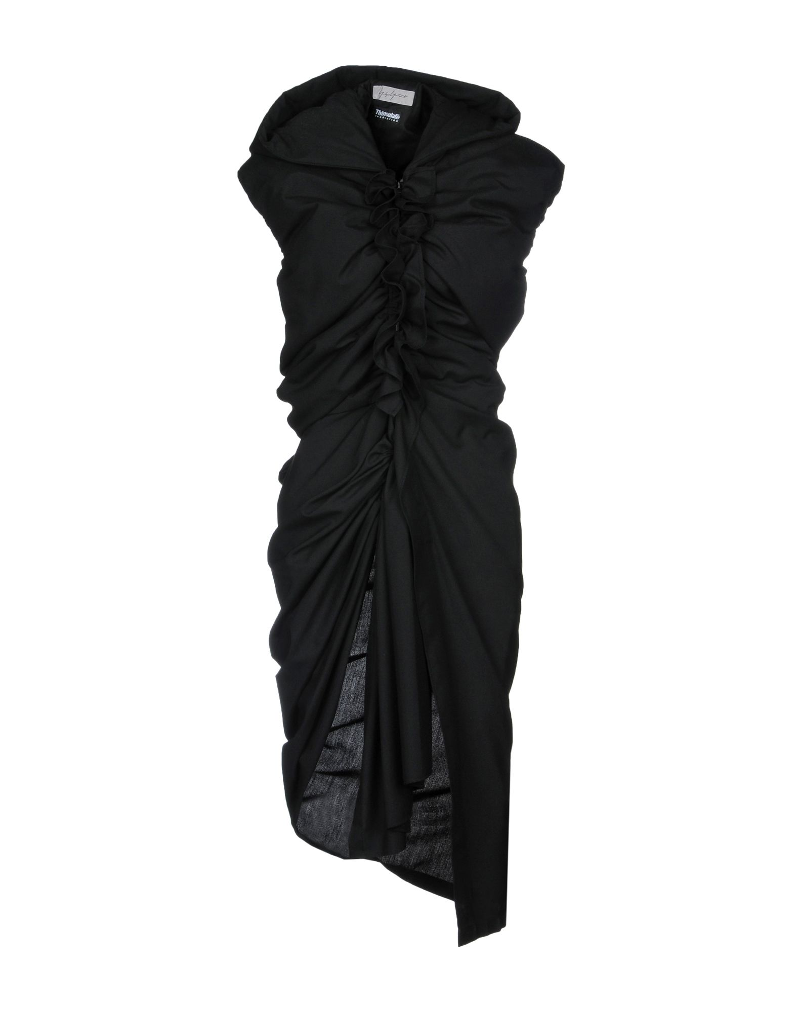 YOHJI YAMAMOTO Платье до колена b yohji yamamoto короткое платье