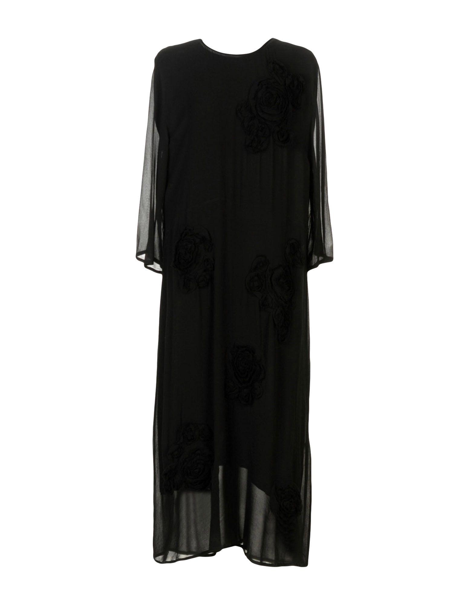 ZUCCA Midi Dress in Black