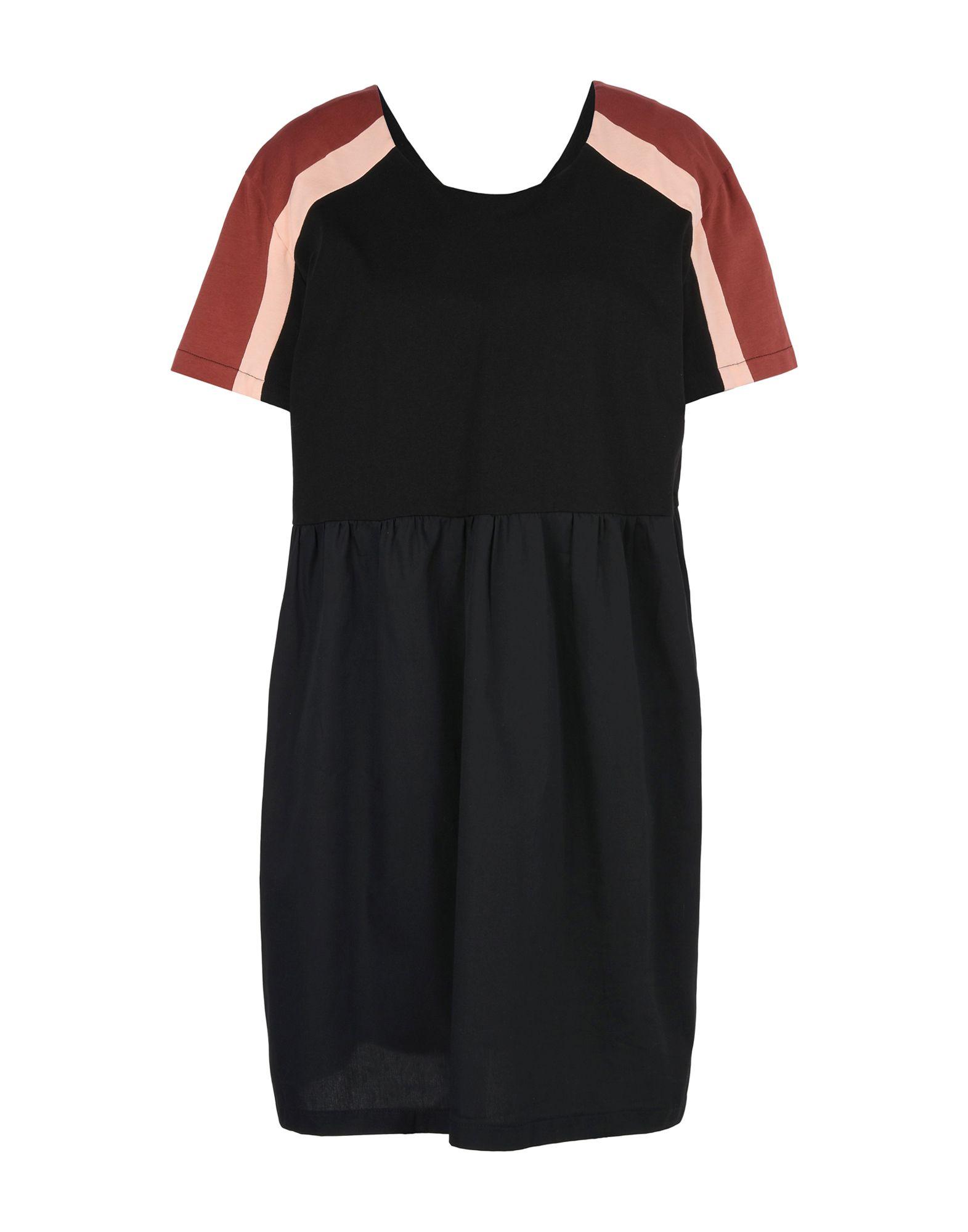 RIYKA Damen Kurzes Kleid Farbe Schwarz Größe 4