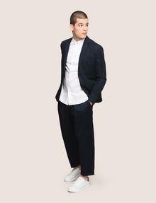 ARMANI EXCHANGE LINEN BLEND TWO-BUTTON BLAZER Blazer Man d