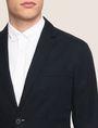 ARMANI EXCHANGE LINEN BLEND TWO-BUTTON BLAZER Blazer Man b