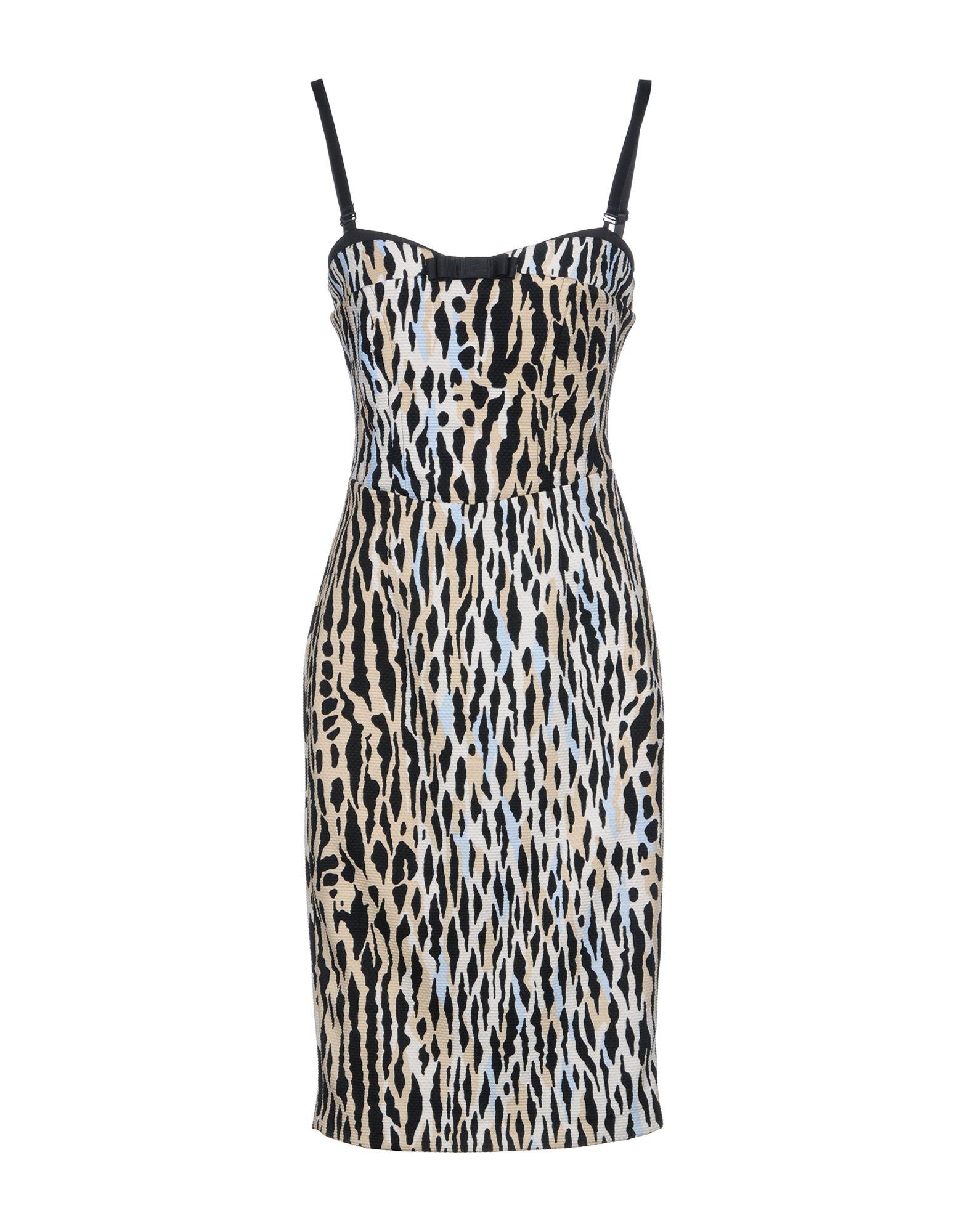 цена SANDRO FERRONE Короткое платье онлайн в 2017 году
