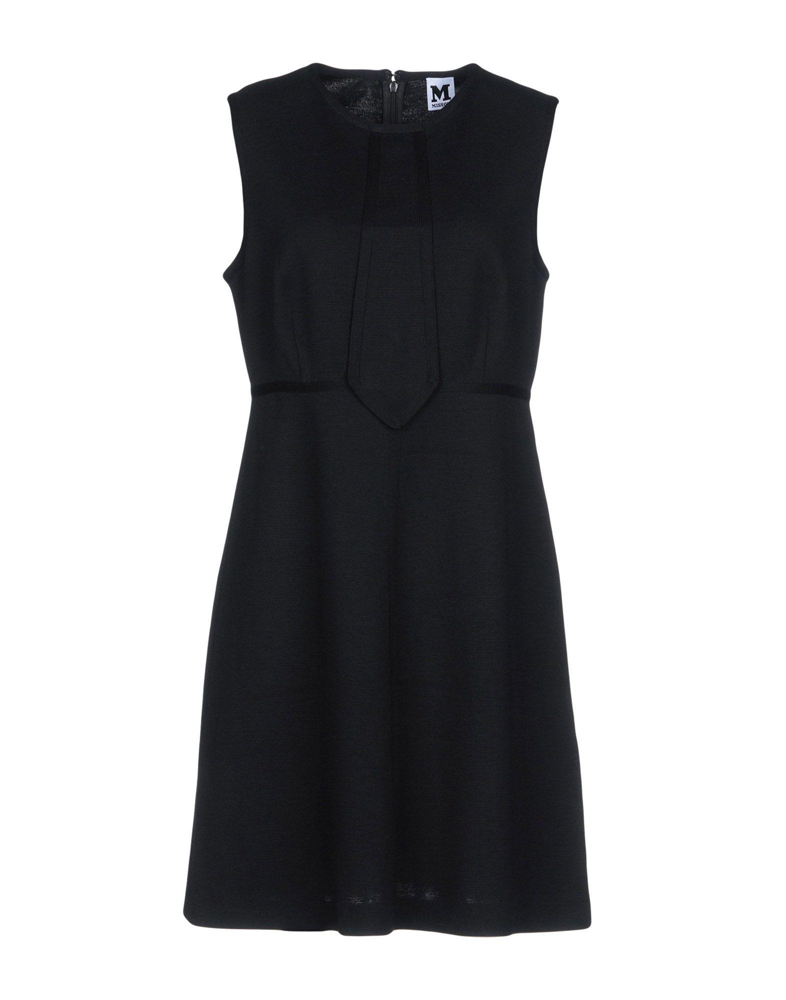 M MISSONI Короткое платье body solid ob 86 1500