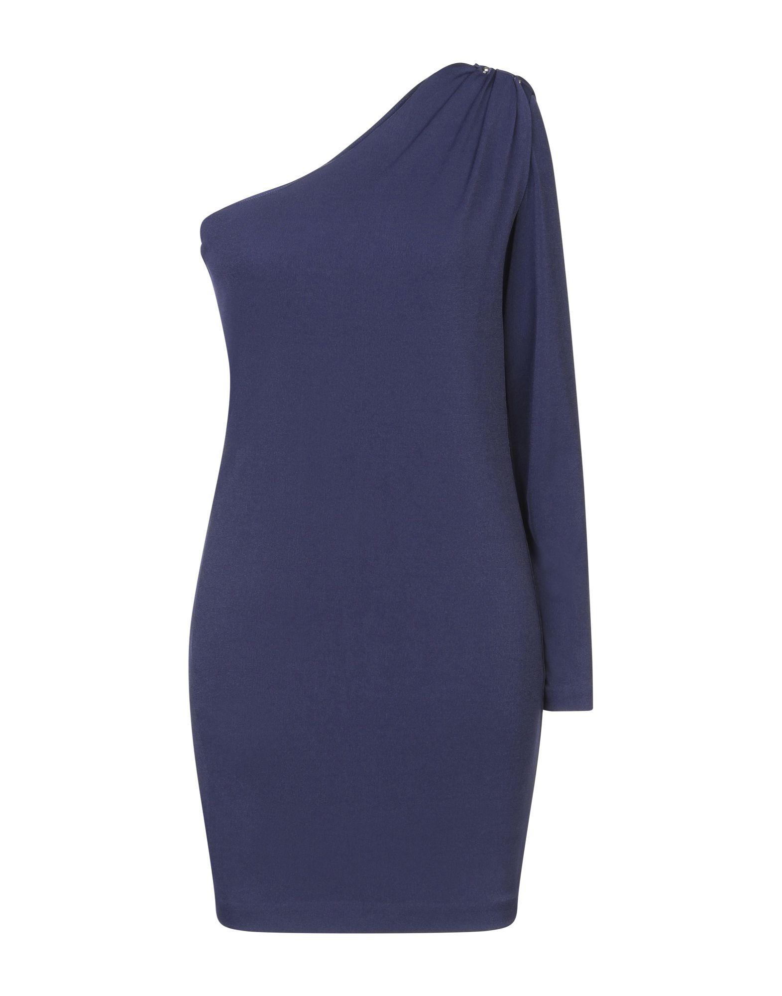 MARCIANO Короткое платье платье коктейльное из одно плечо