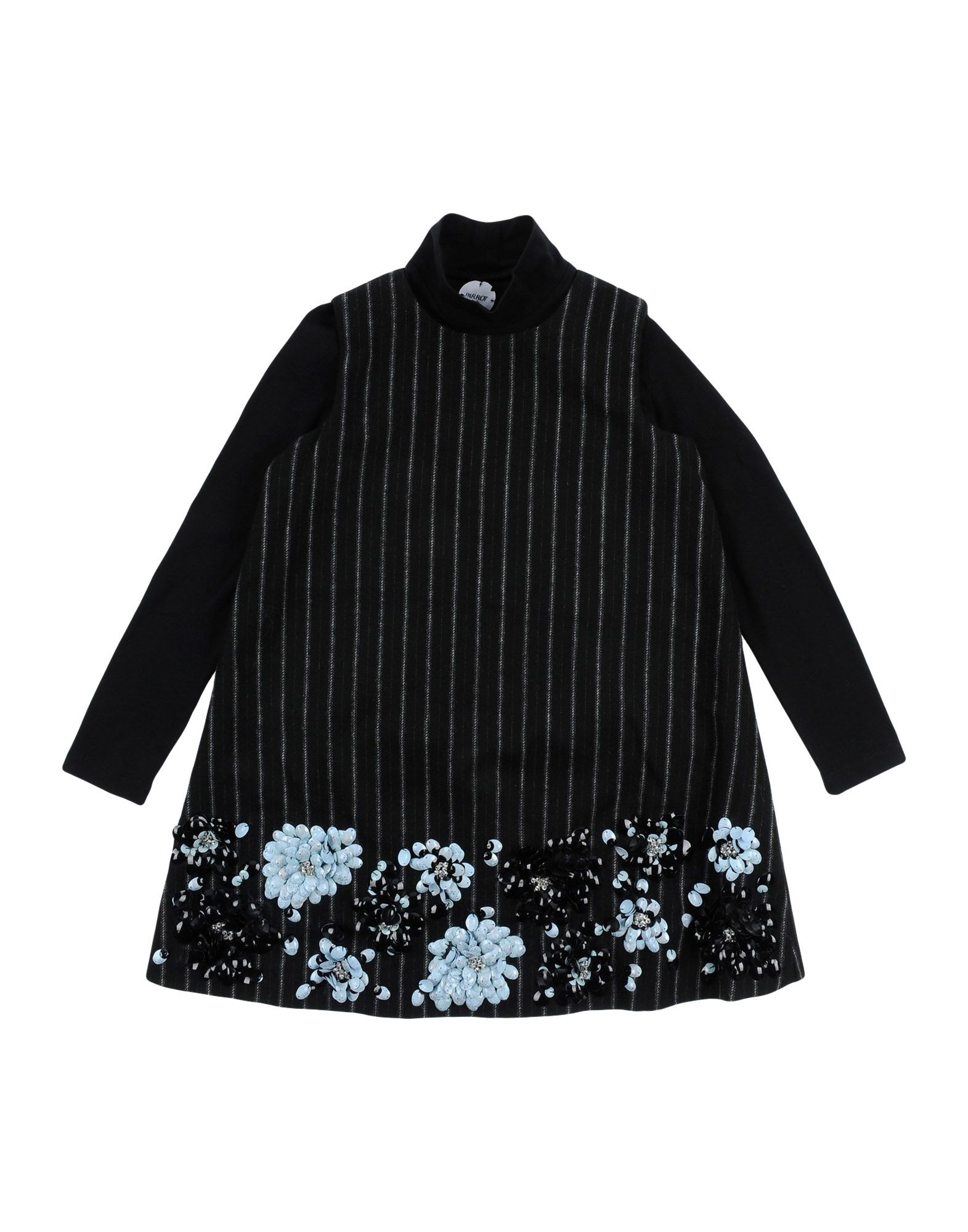 PARROT Dress in Black