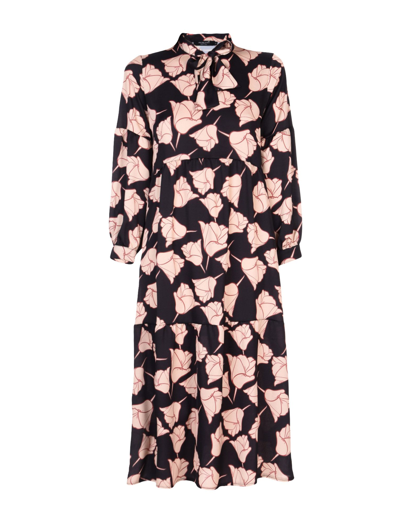 MICHELA MII Платье длиной 3/4 lisa corti платье длиной 3 4