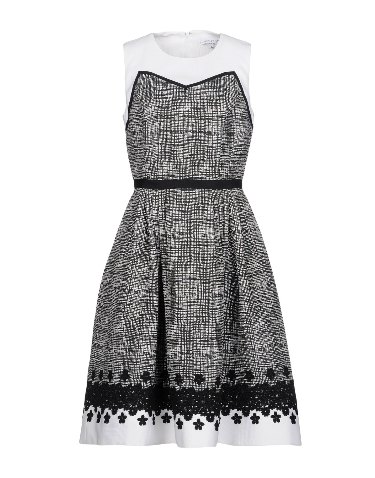 ANDREW GN Платье до колена цена и фото