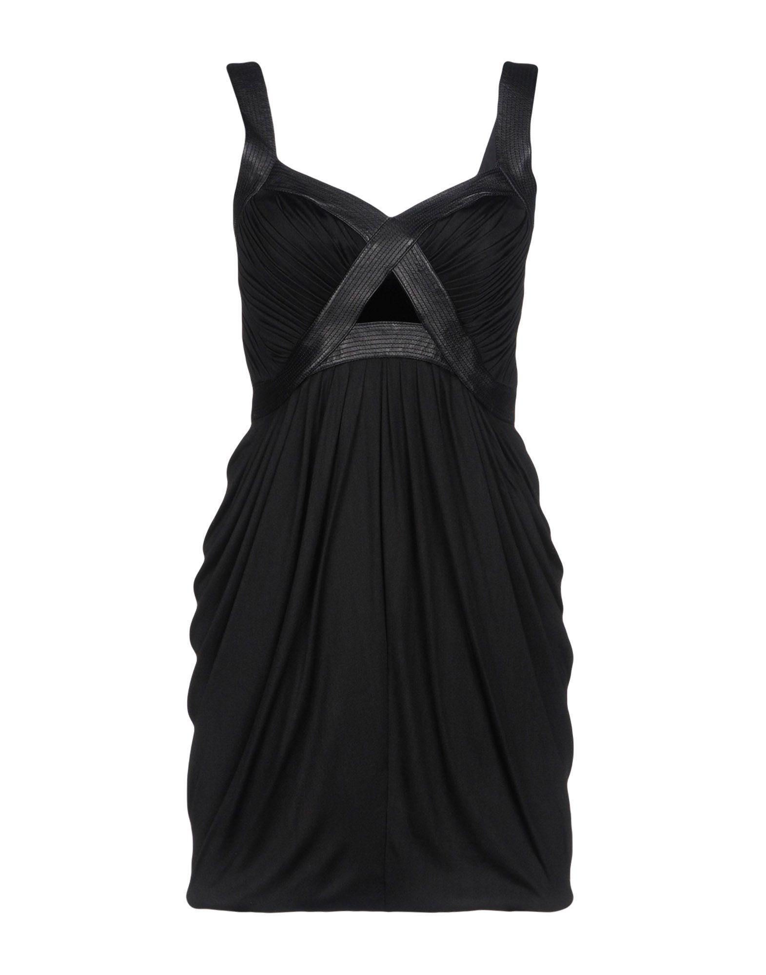 ANDREW GN Короткое платье недорго, оригинальная цена