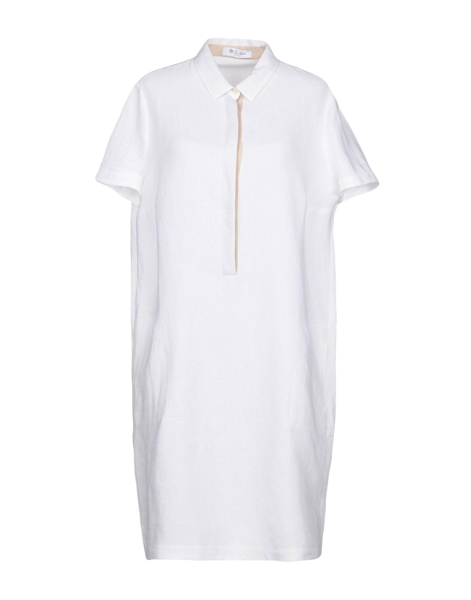 купить LORO PIANA Короткое платье по цене 70000 рублей