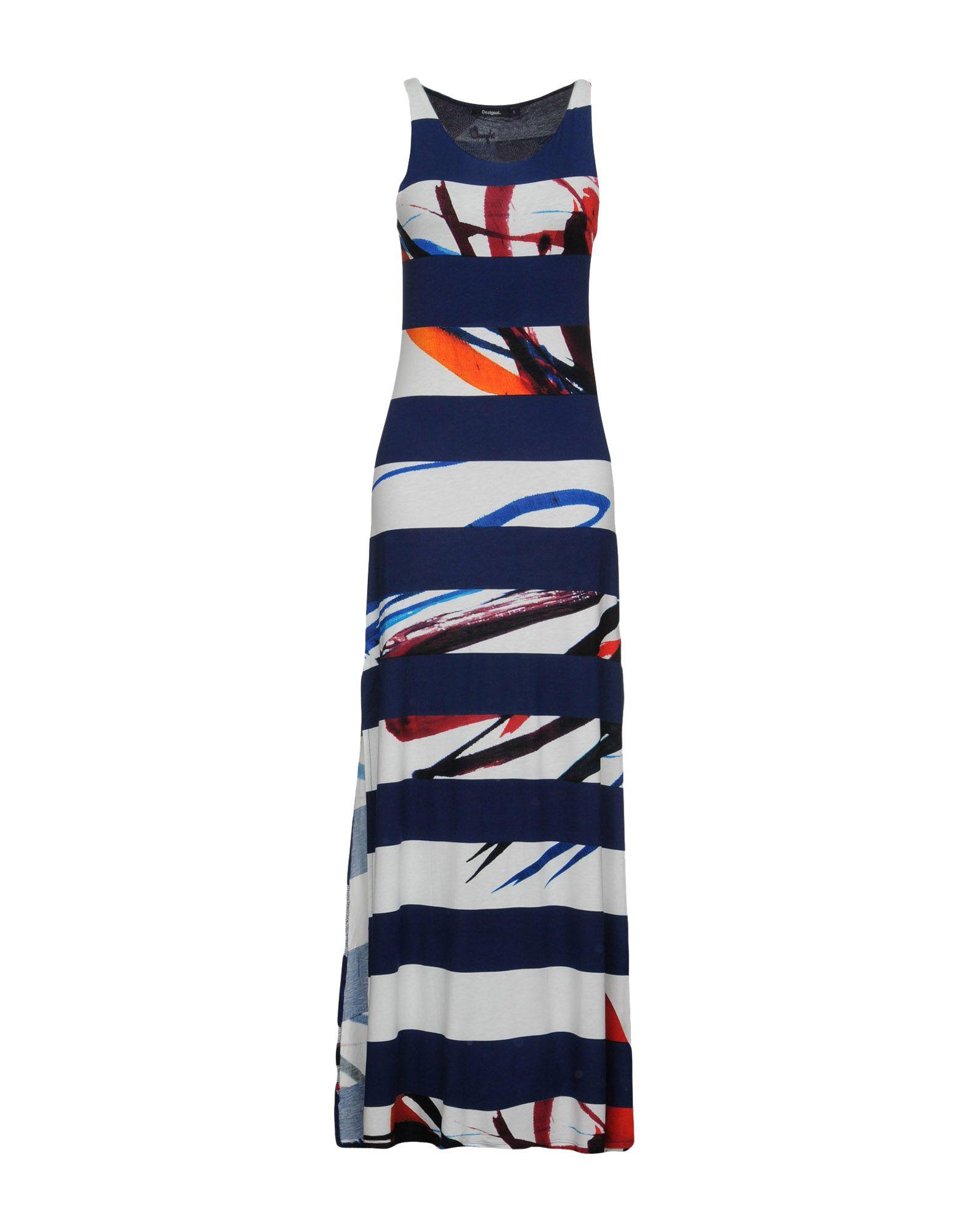 DESIGUAL Длинное платье платье desigual 17wwvk44 2000