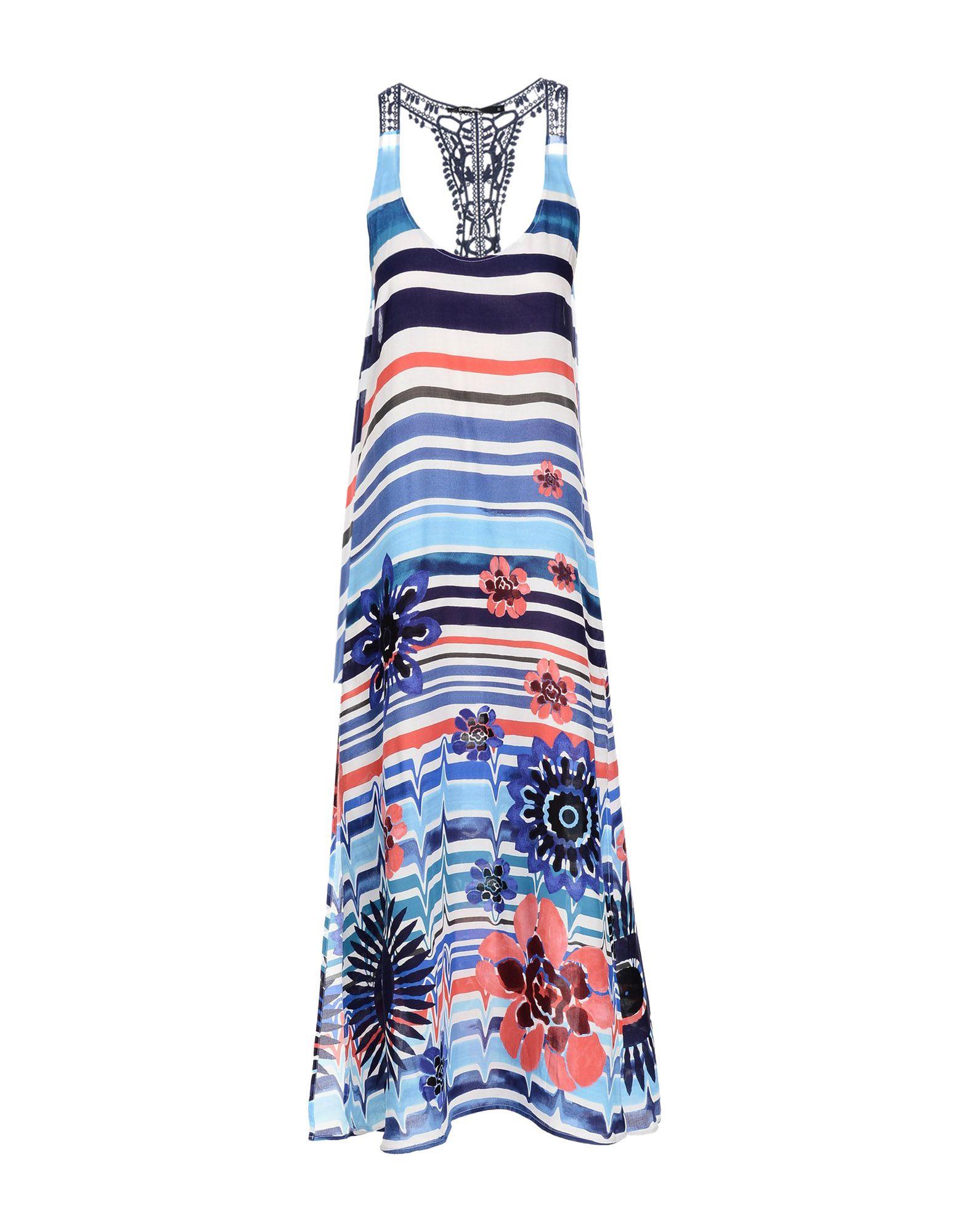 DESIGUAL Длинное платье платье desigual desigual de002ewabxu9