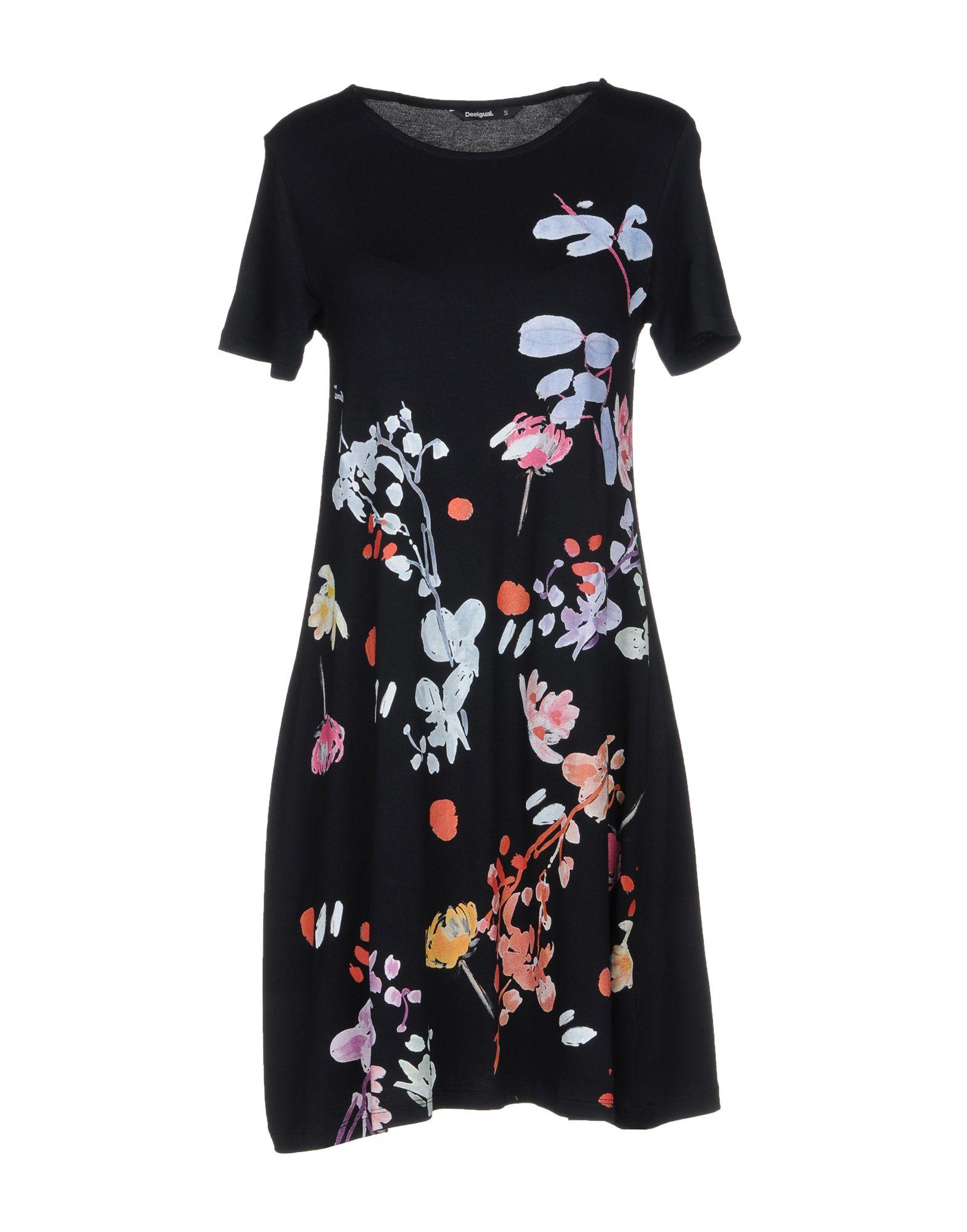 DESIGUAL Короткое платье платье desigual 17wwvk44 2000