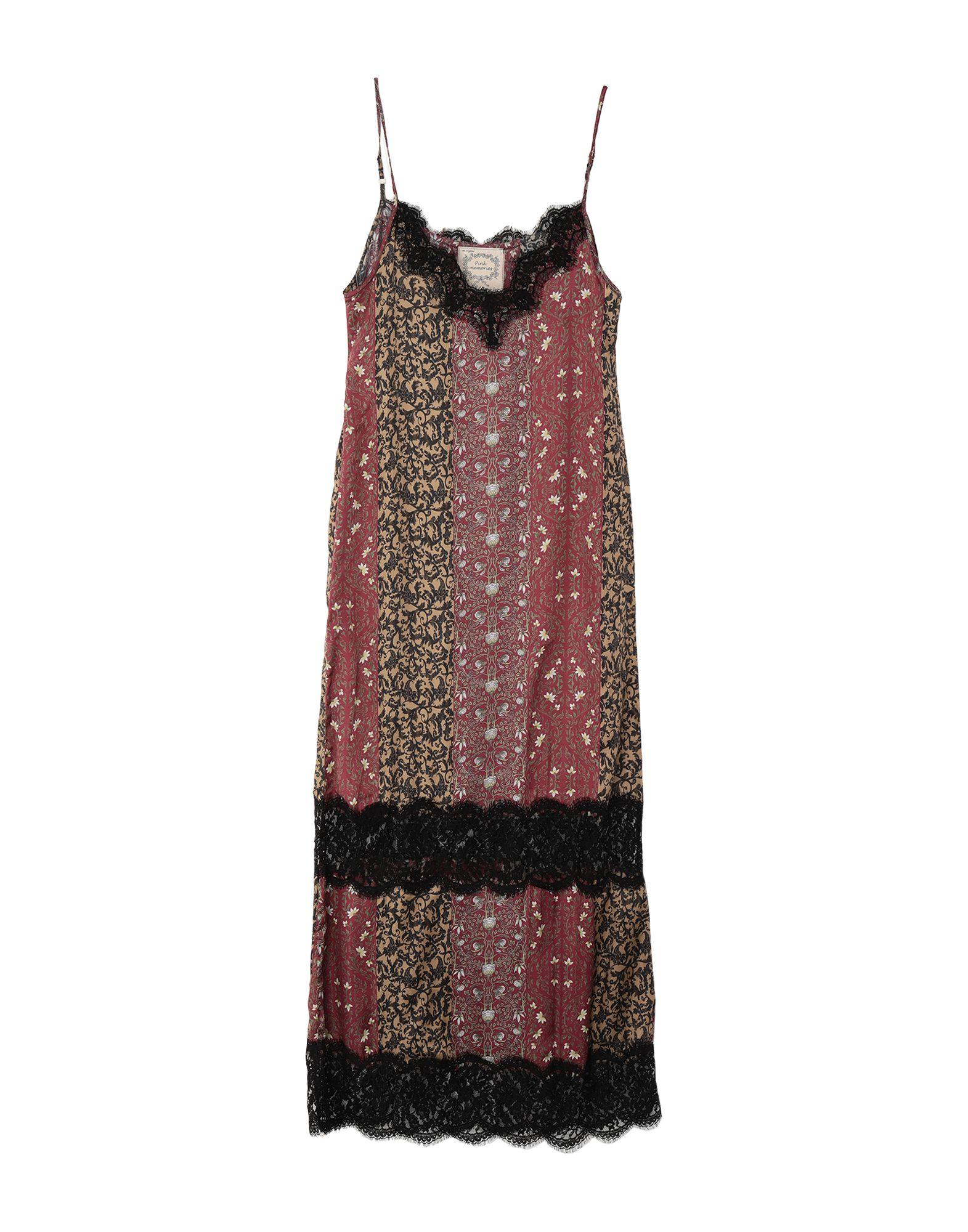 PINK MEMORIES Длинное платье